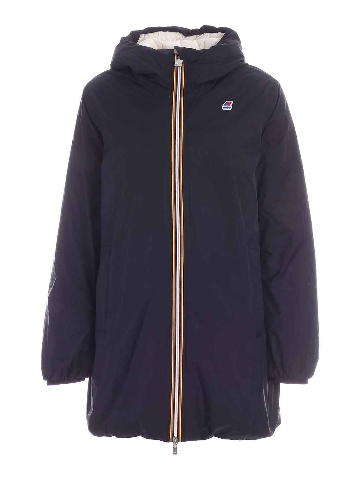 K-Way SOPHIE THERMO PLUS2 DOUBLE DOWN JACKET IN BL