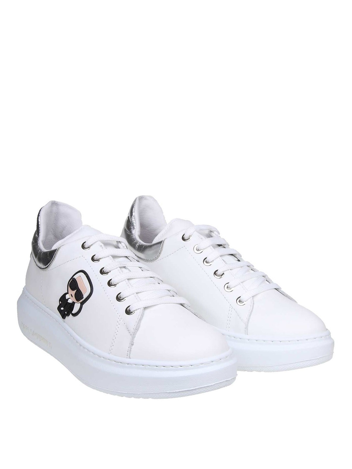 Karl Lagerfeld - Karl patch white