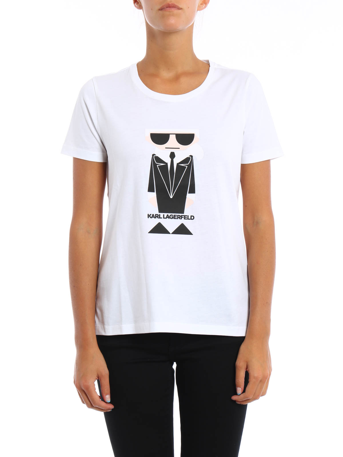 karl kocktail t shirt by karl lagerfeld t shirts shop. Black Bedroom Furniture Sets. Home Design Ideas