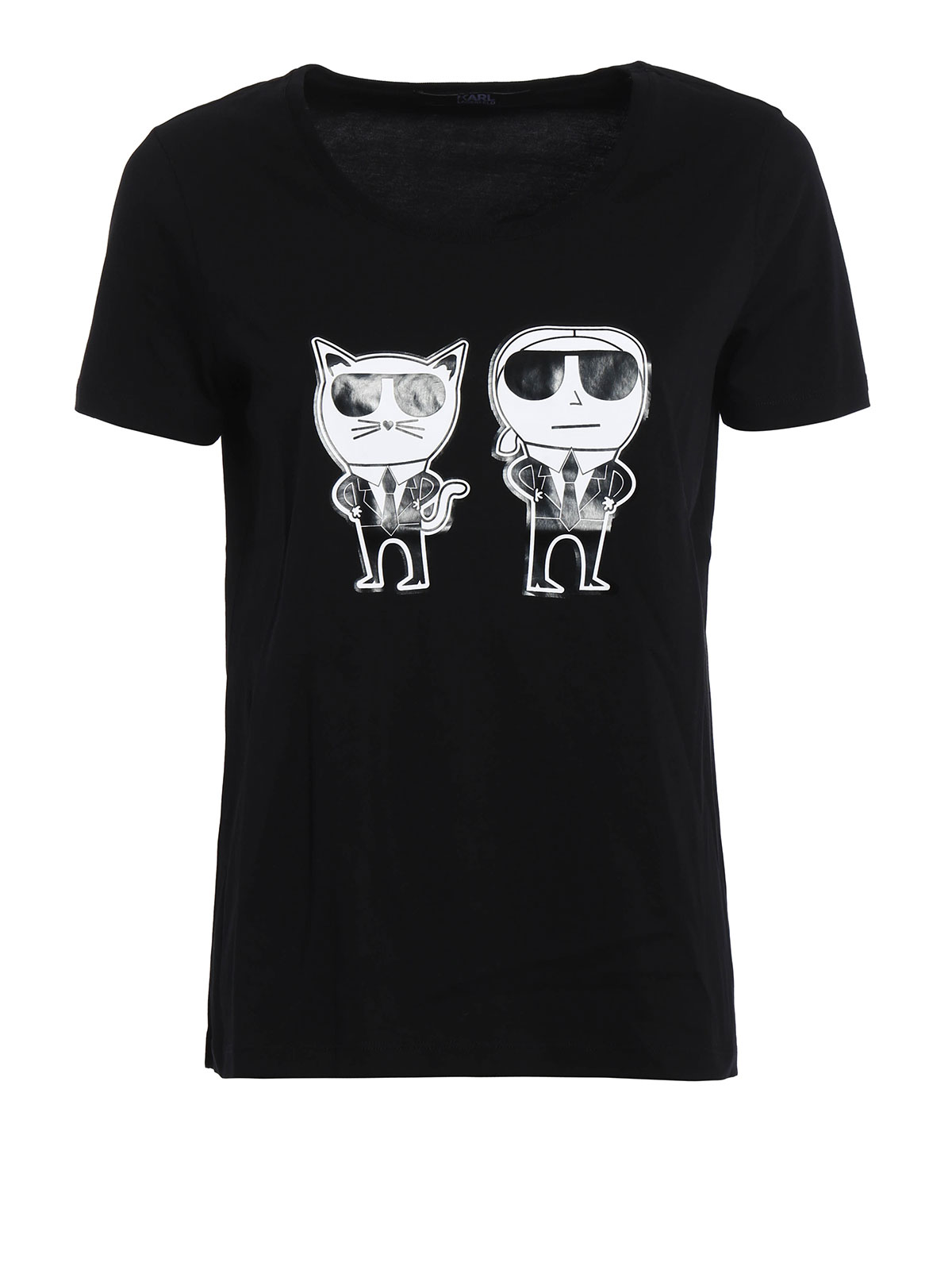 t shirt tuxedo karl choupette von karl lagerfeld t. Black Bedroom Furniture Sets. Home Design Ideas