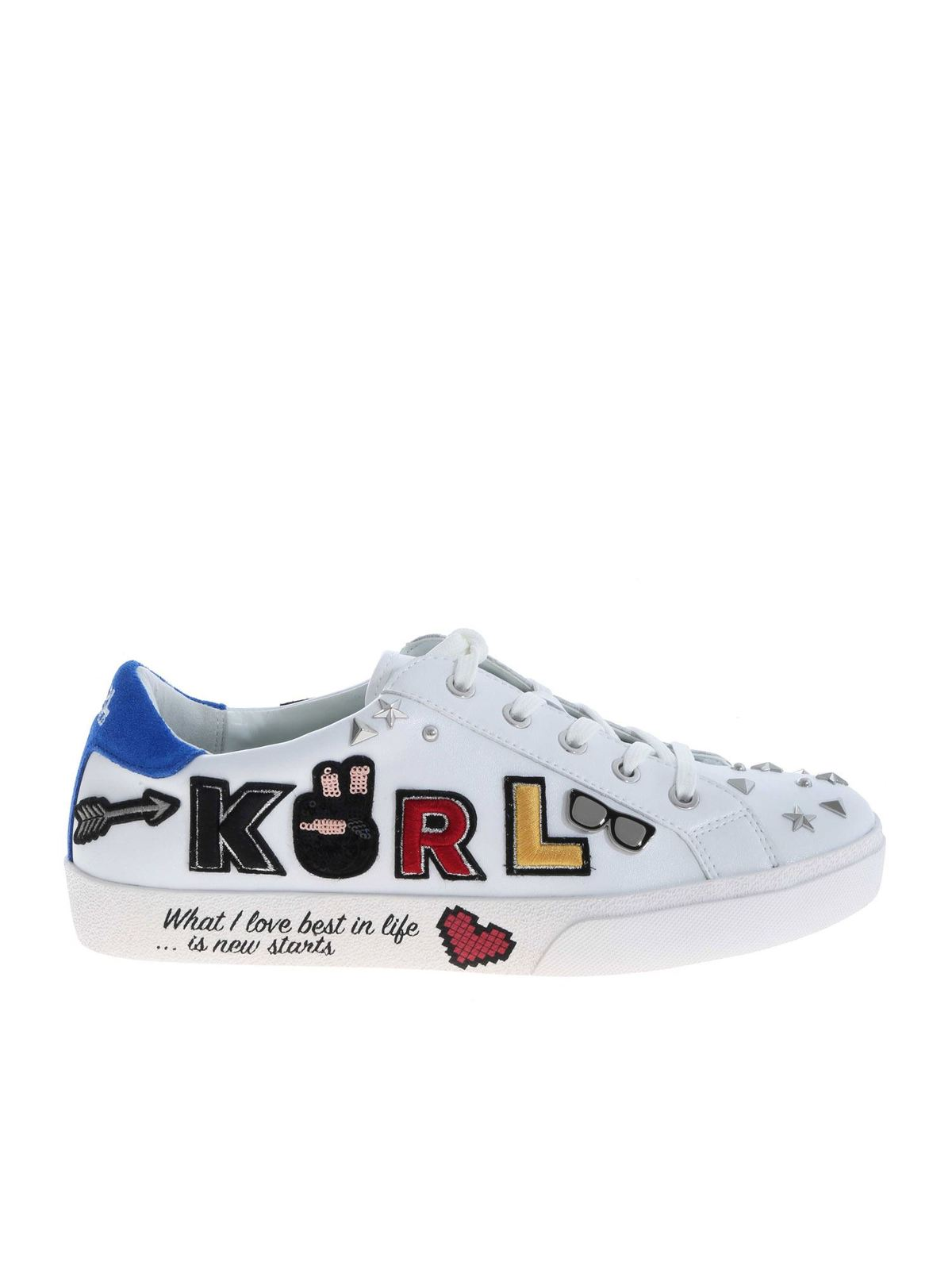 Karl Lagerfeld Women's Shoes Leather