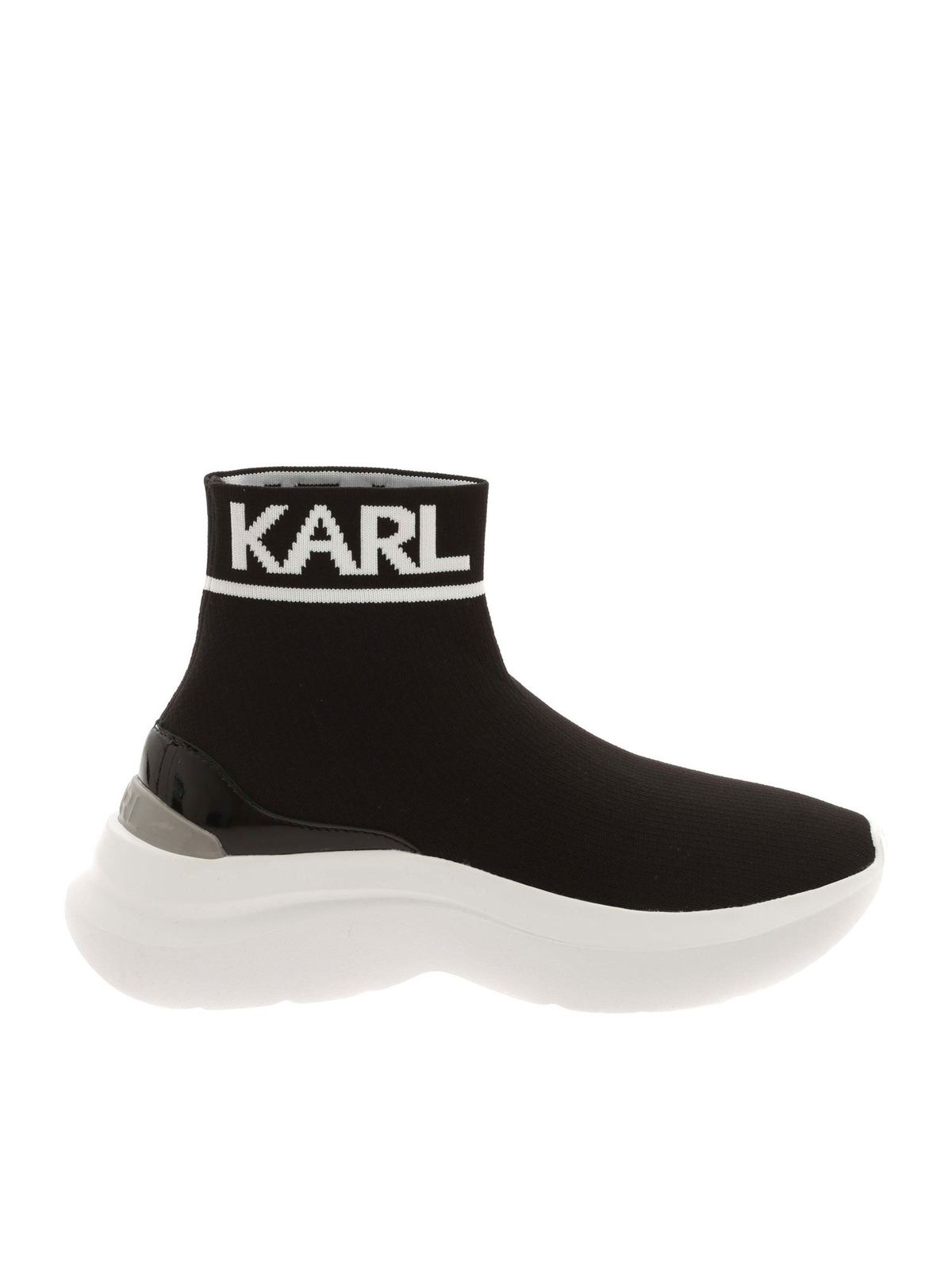KARL LAGERFELD SKYLINE SNEAKERS IN BLACK