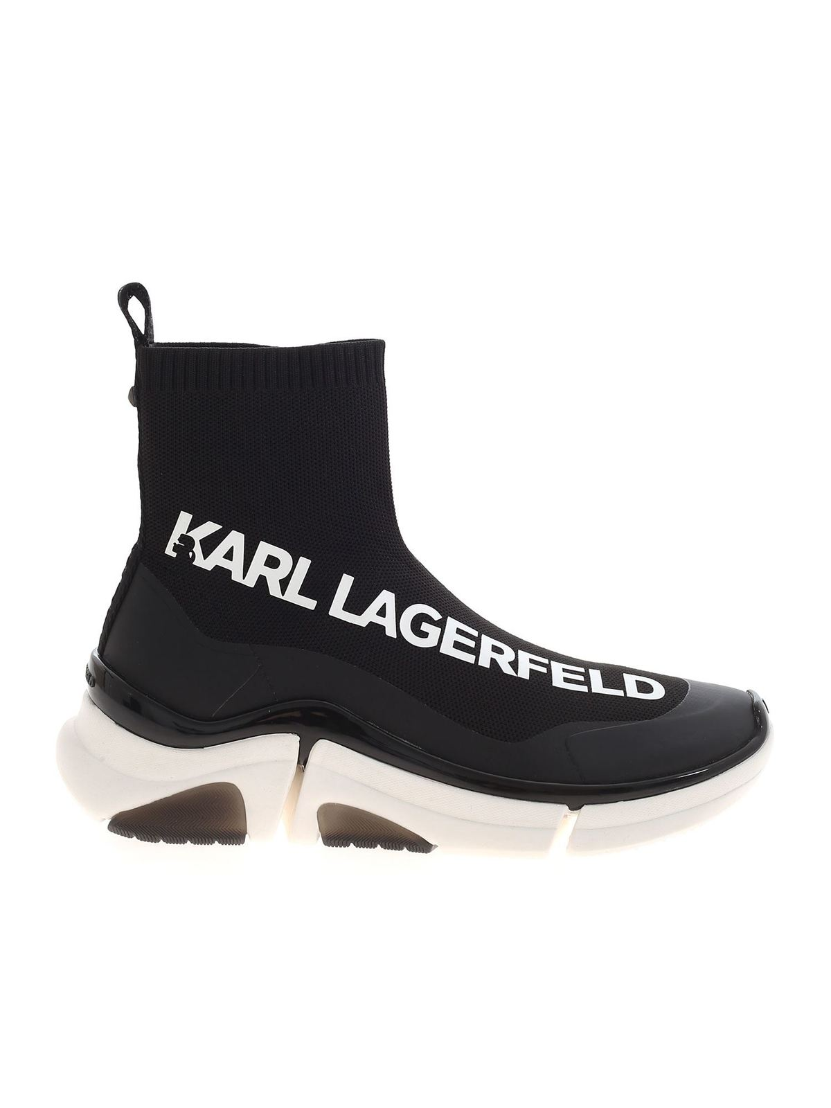 Karl Lagerfeld VENTURE SNEAKERS IN BLACK