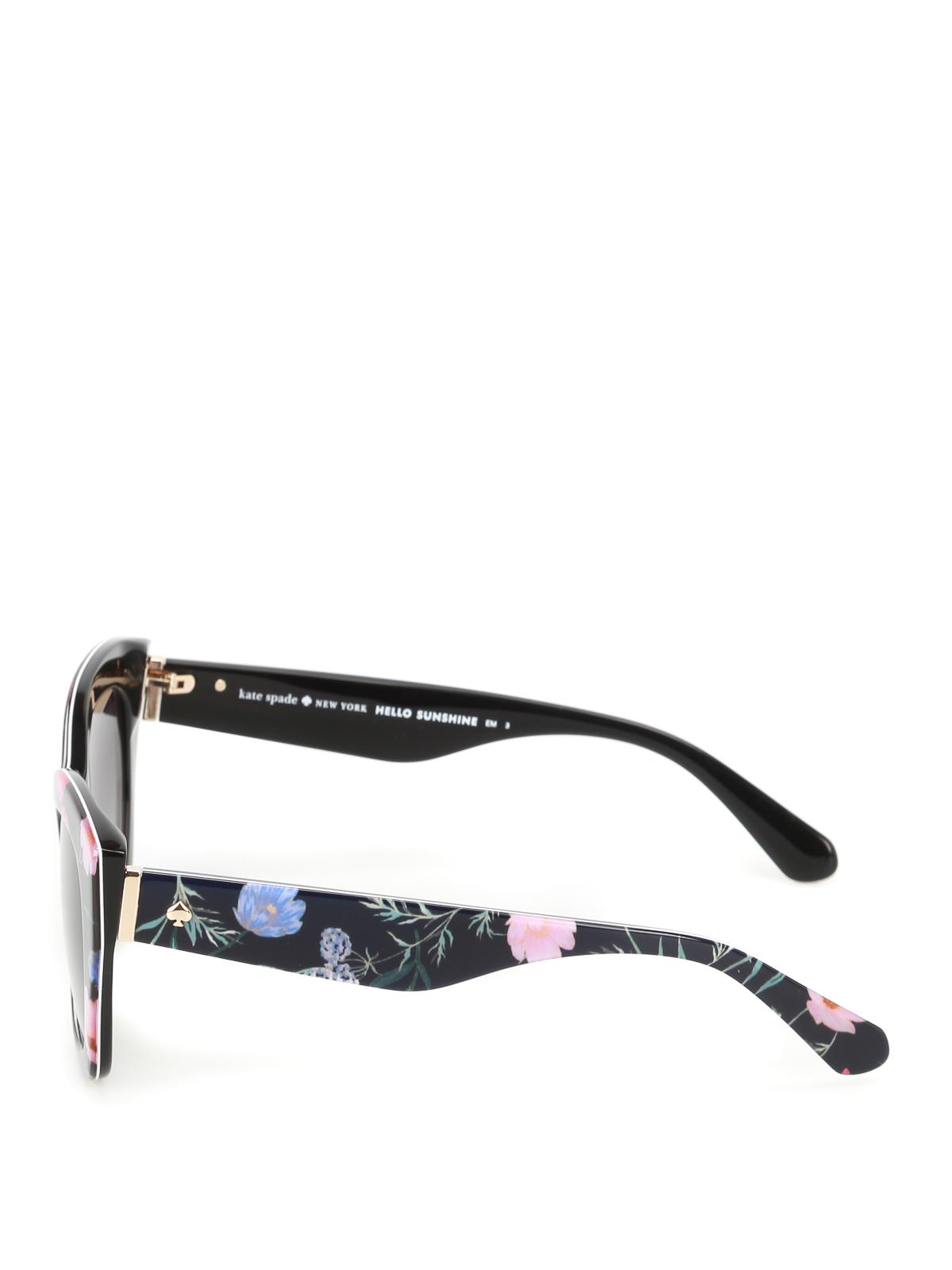 Kate Spade - Jelena floral frame sunglasses - sunglasses - JALENASINA9O
