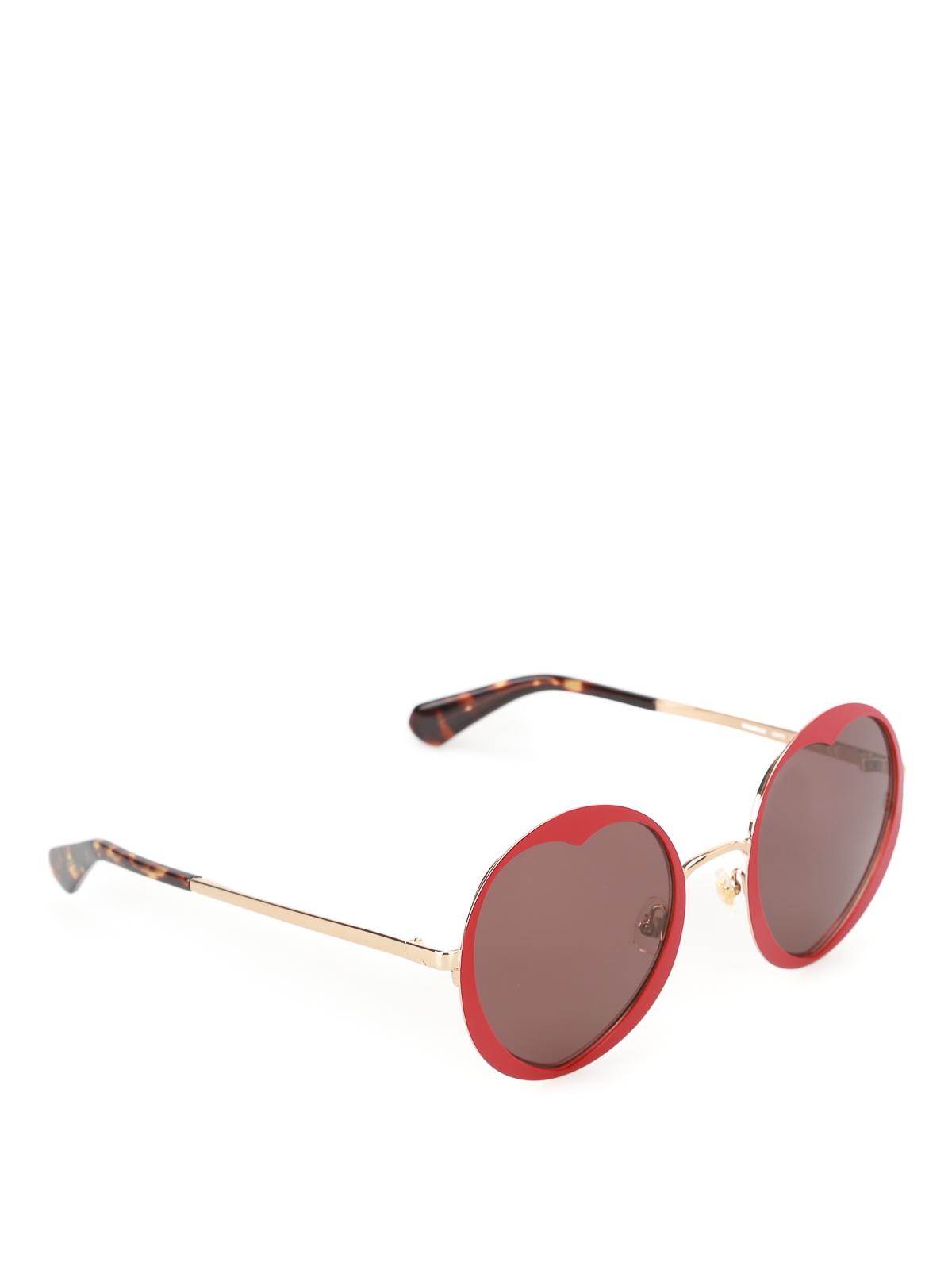 a809f7c10751 Kate Spade - Rosaria heart-shaped red sunglasses - sunglasses ...