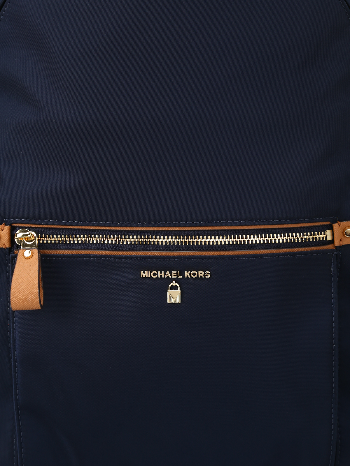 483228373569 Michael Kors - Kelsey L navy blue nylon backpack - backpacks ...