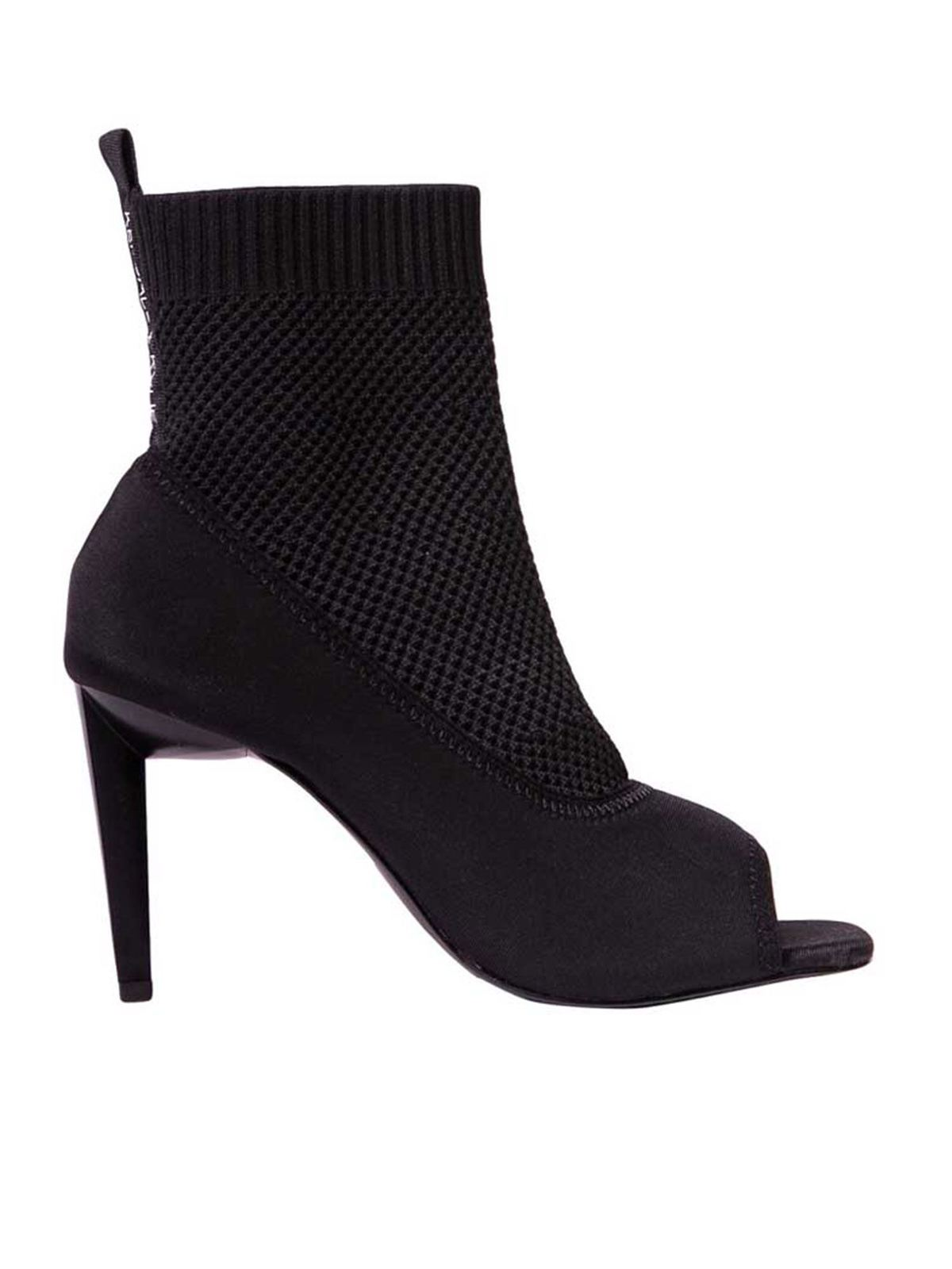 Kendall + Kylie ZIKO ANKLE PUMPS IN BLACK