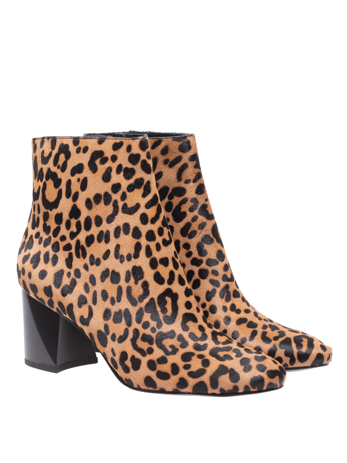830c69a7d80e Kendall + Kylie: ankle boots online - Hadlee pony hair leopard print ankle  boots