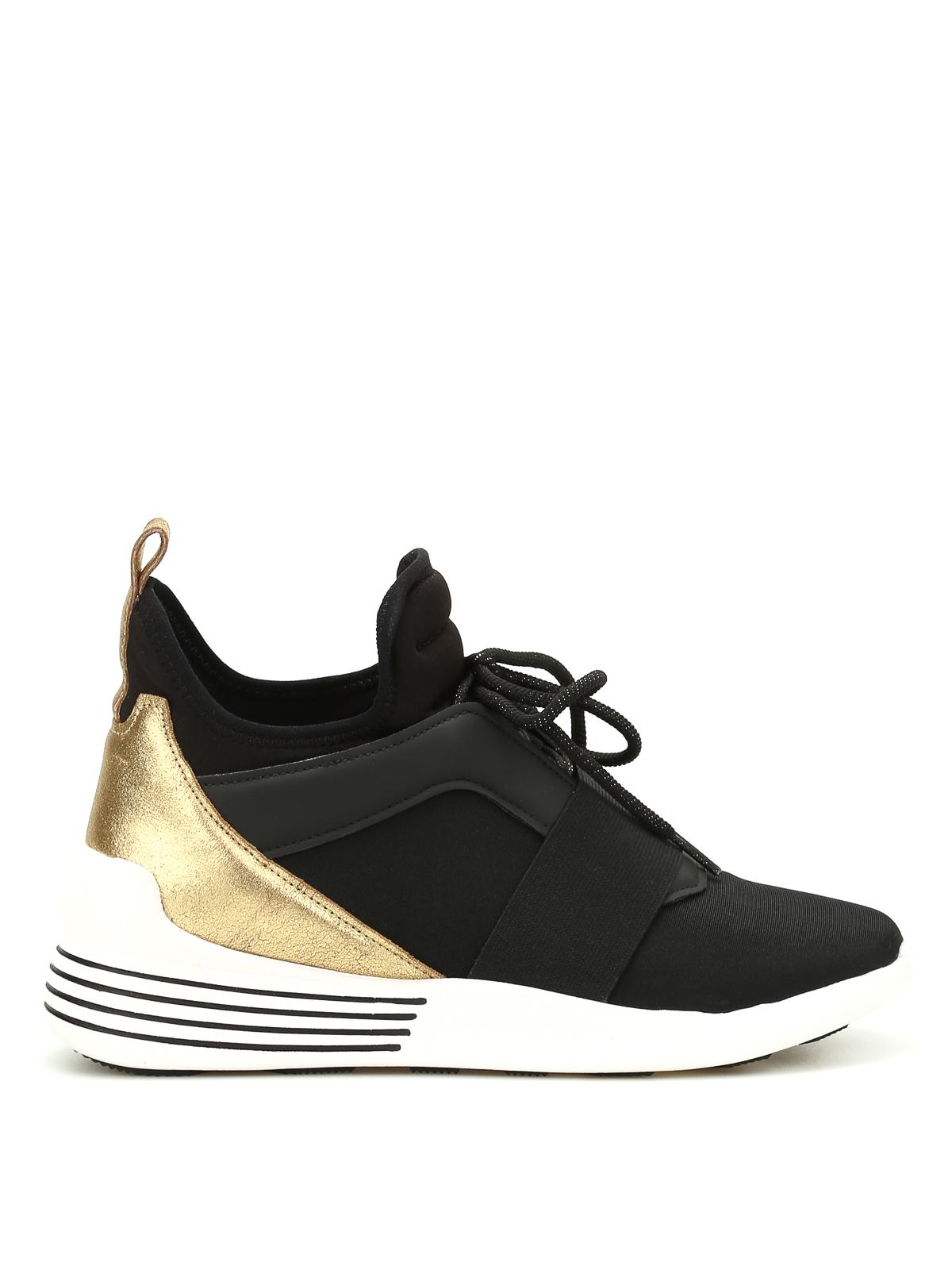 Kendall Kylie Braydin High Top Neoprene Sneakers