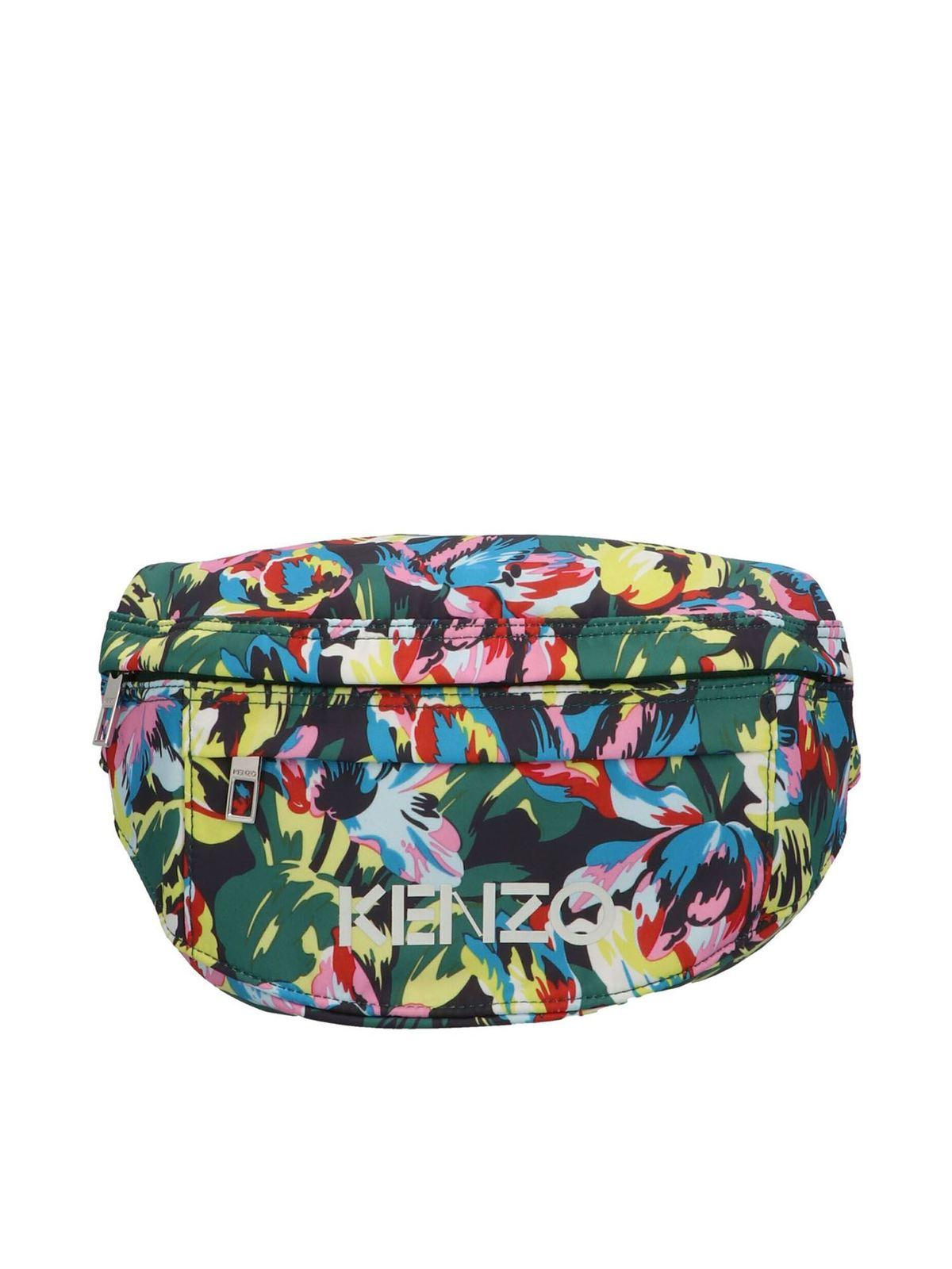 Kenzo X Vans Belt Bag In Multicolor In Multicolour