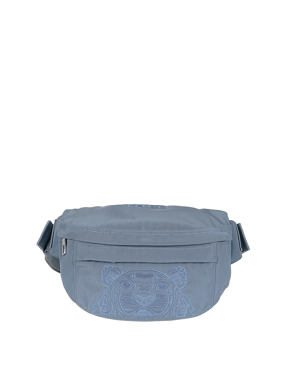 Kenzo Tiger Belt Bag In Light Blue