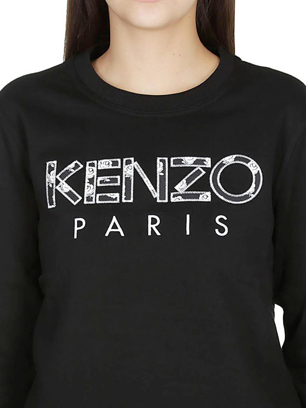 302b0f7729 Kenzo - Kenzo Roses sweatshirt - Sweatshirts & Sweaters ...