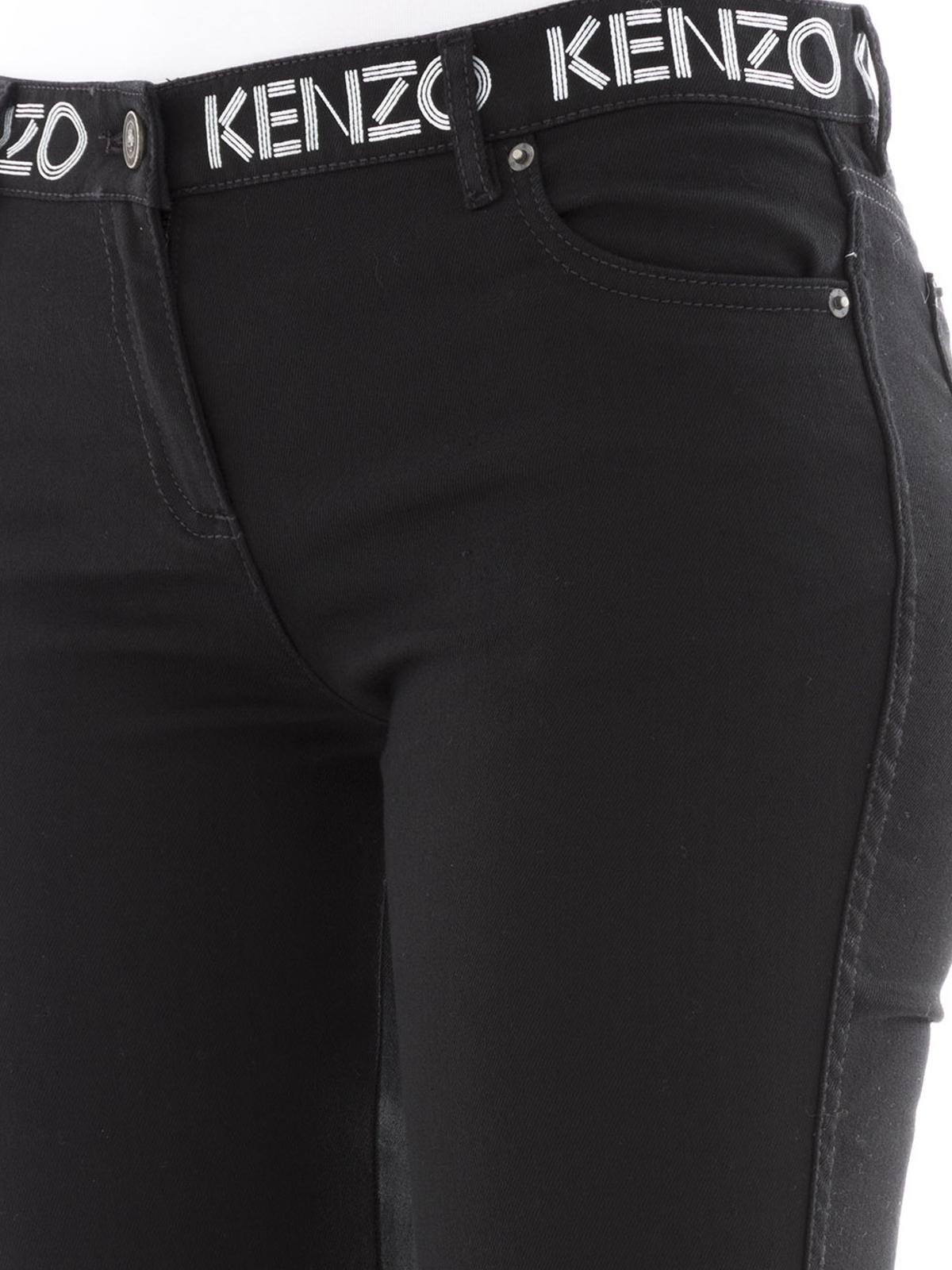 Kenzo - Jean Skinny - Noir - Jeans skinny