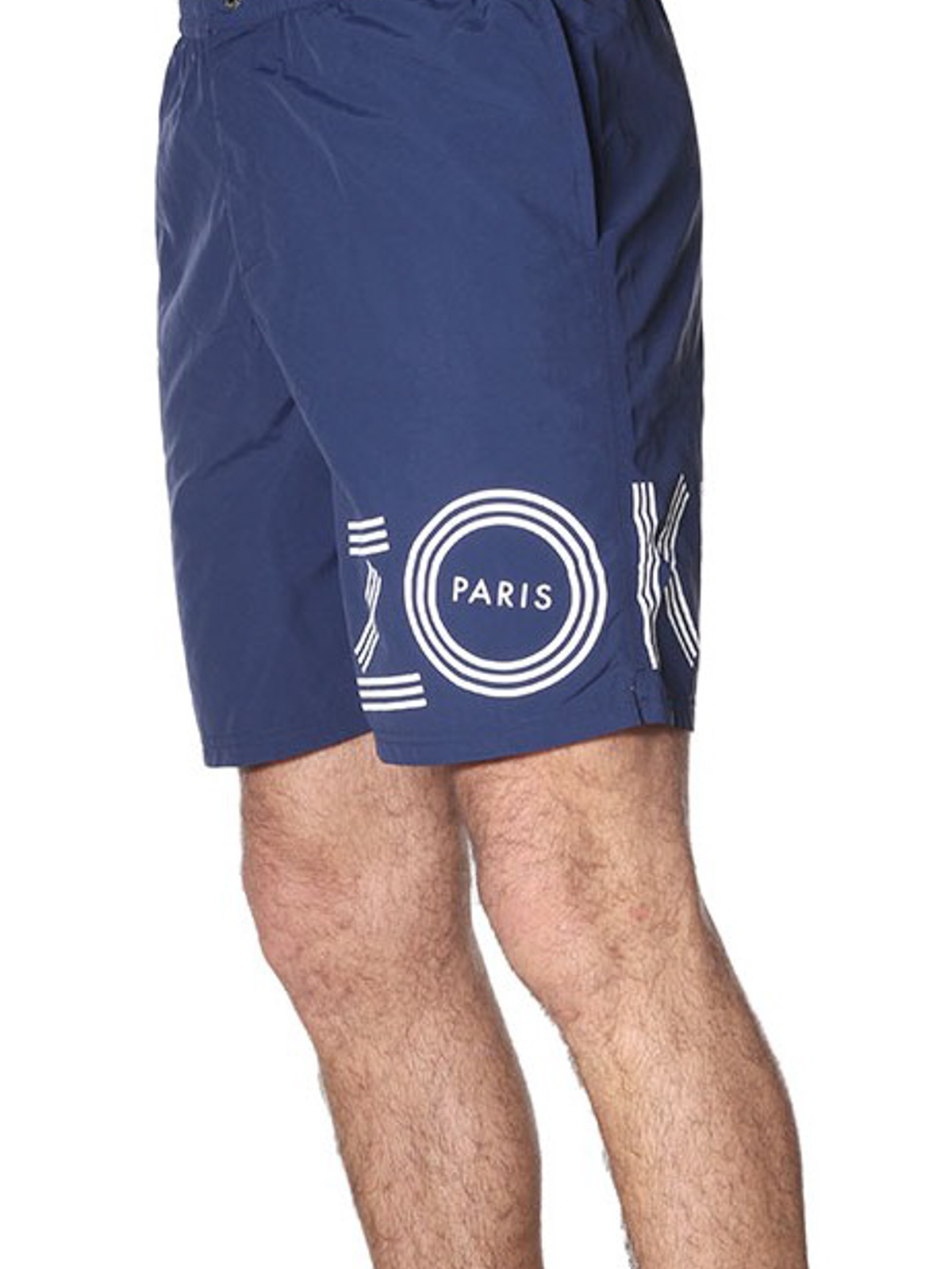 15bced645d Kenzo - Logo print blue nylon swim shorts - Swim shorts & swimming ...
