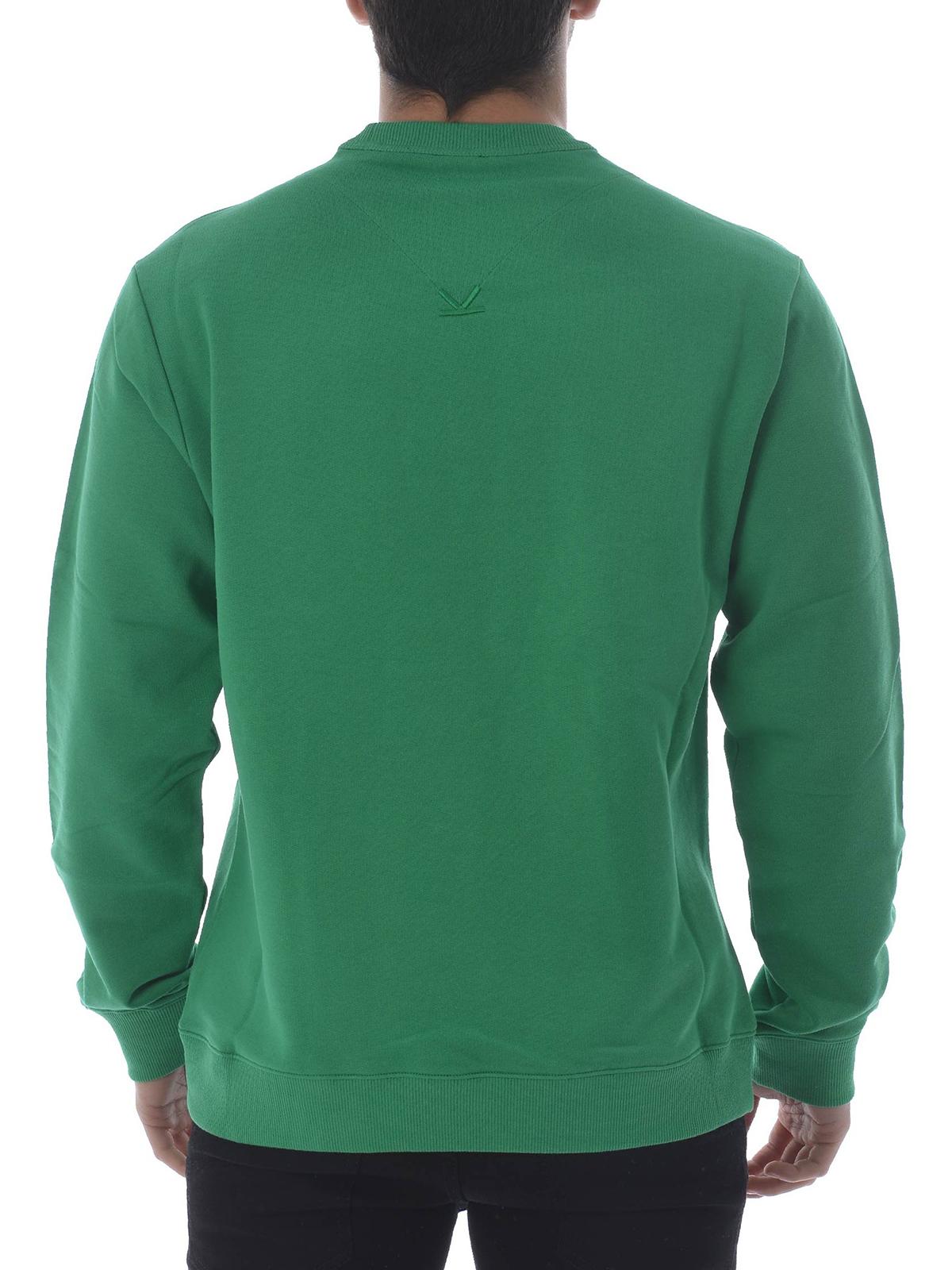 Kenzo Kenzo green sweatshirt Sweatshirts & Sweaters