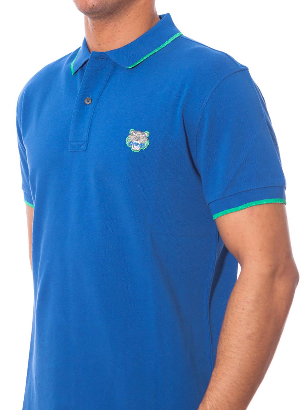 394e45d9 Kenzo - Mini Tiger logo polo - polo shirts - F655PO2014BA 74 | iKRIX.com