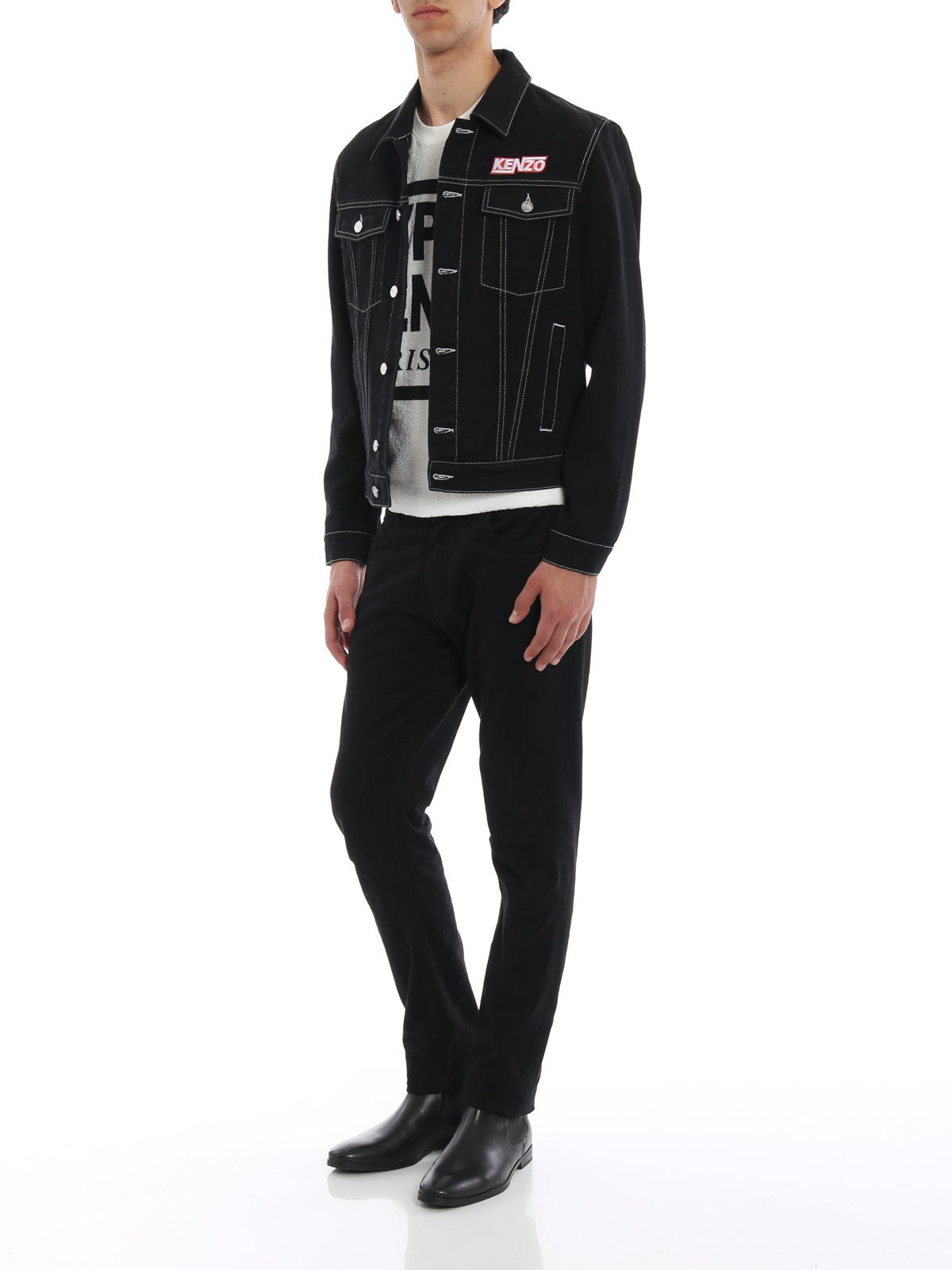 Kenzo - Giacca di jeans Hyper Kenzo - giacche denim - F855BL5202EF99 a66d10e9223
