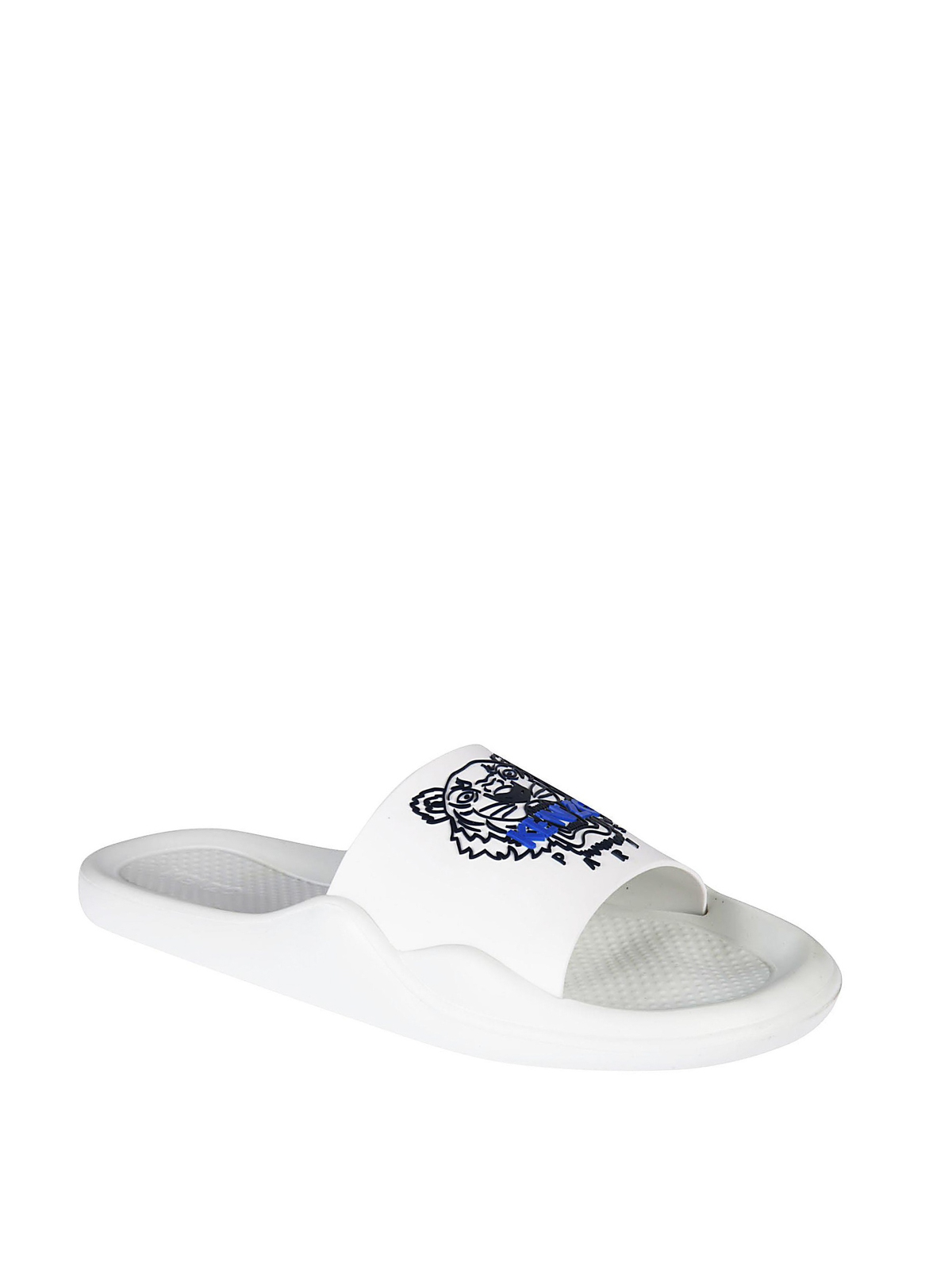 a3a0c6f85123 Kenzo - Tiger rubber slide sandals - sandals - F855SD104P71 01 ...