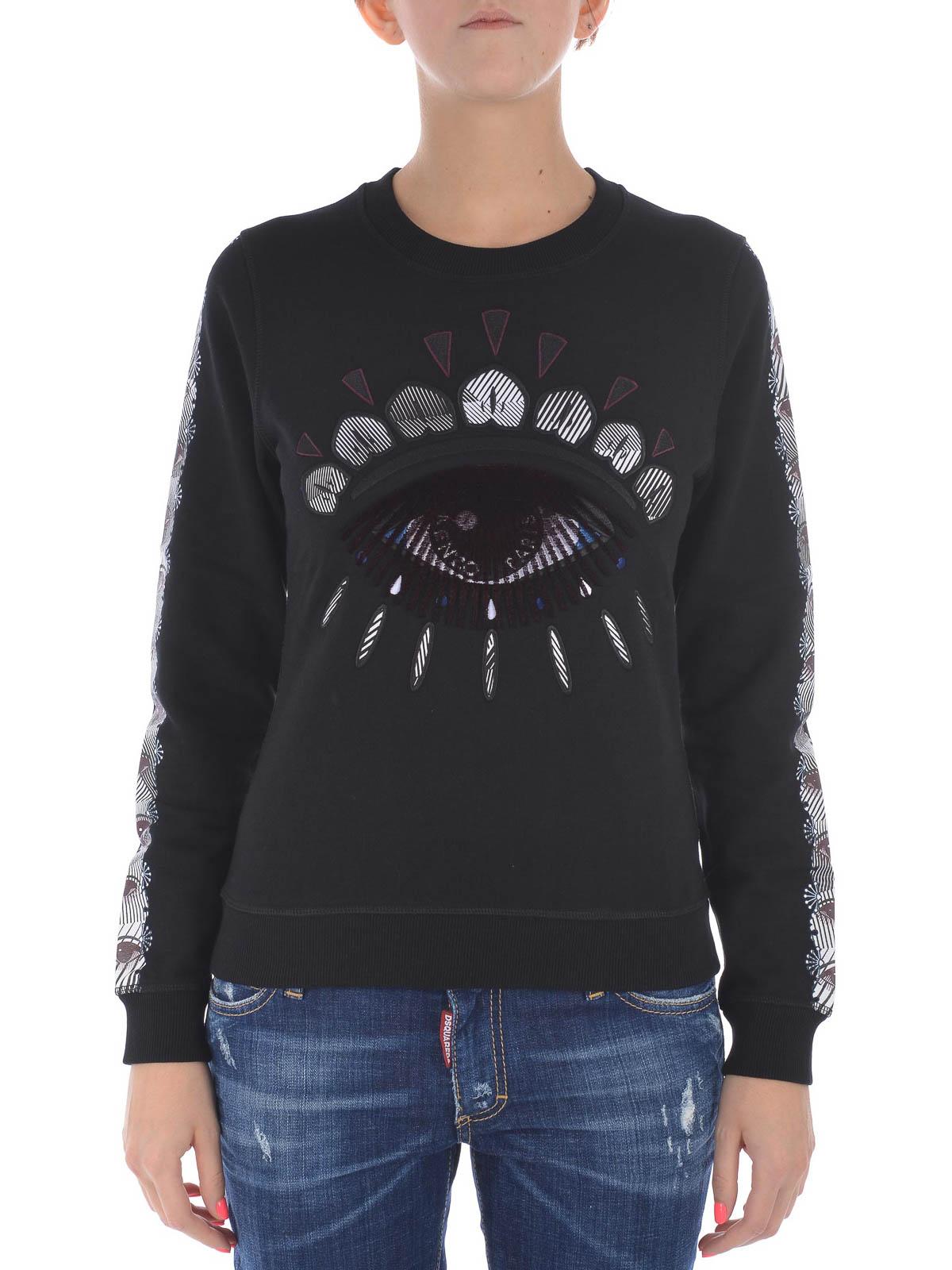 25f992a7c2e5 KENZO  Sweatshirts   Sweaters online - Nagai Eye embroidered sweatshirt