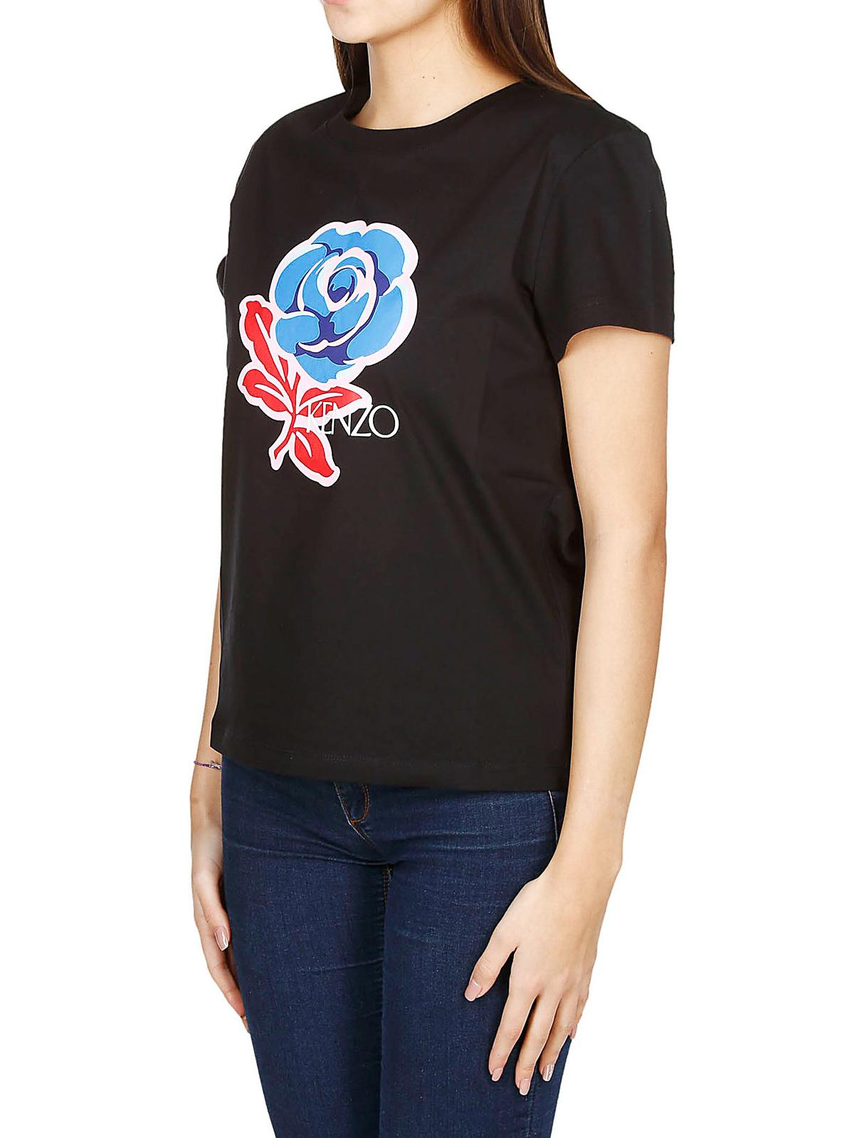 Roses Slim Fit Shirt T Kenzo 99 Shirts F952ts785990 eD9bE2YWIH