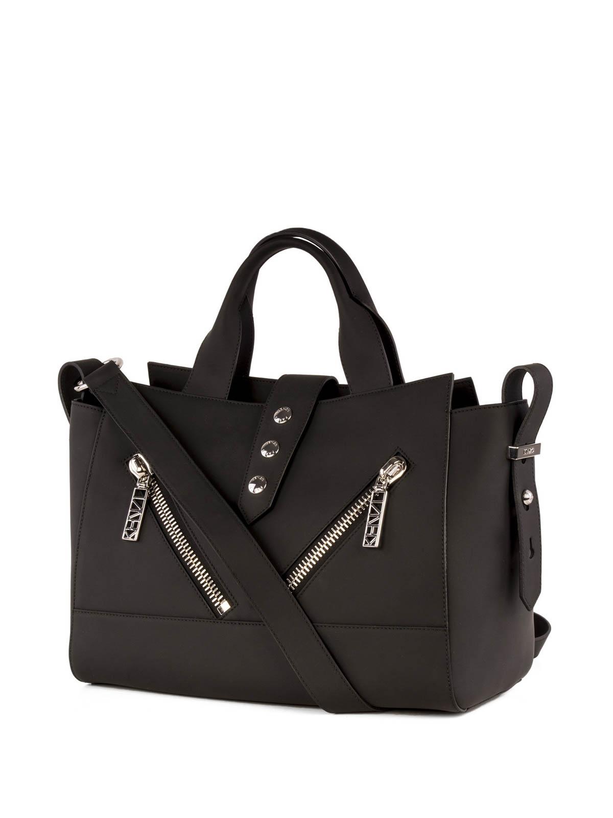 7b9d294f Kenzo - Kalifornia Gommato Leather tote - totes bags - F662SA106L2599