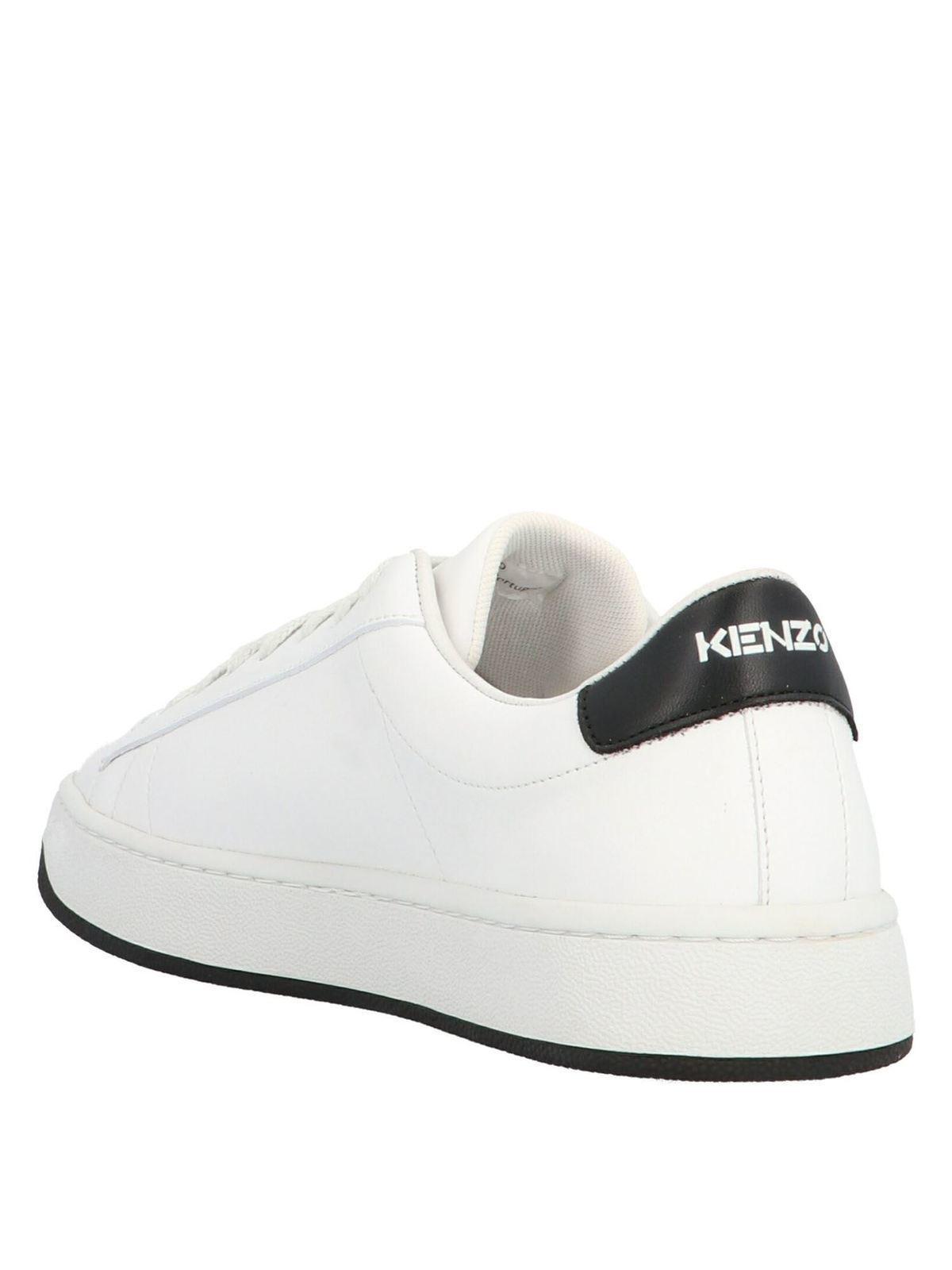 Kenzo - K-logo sneakers in white