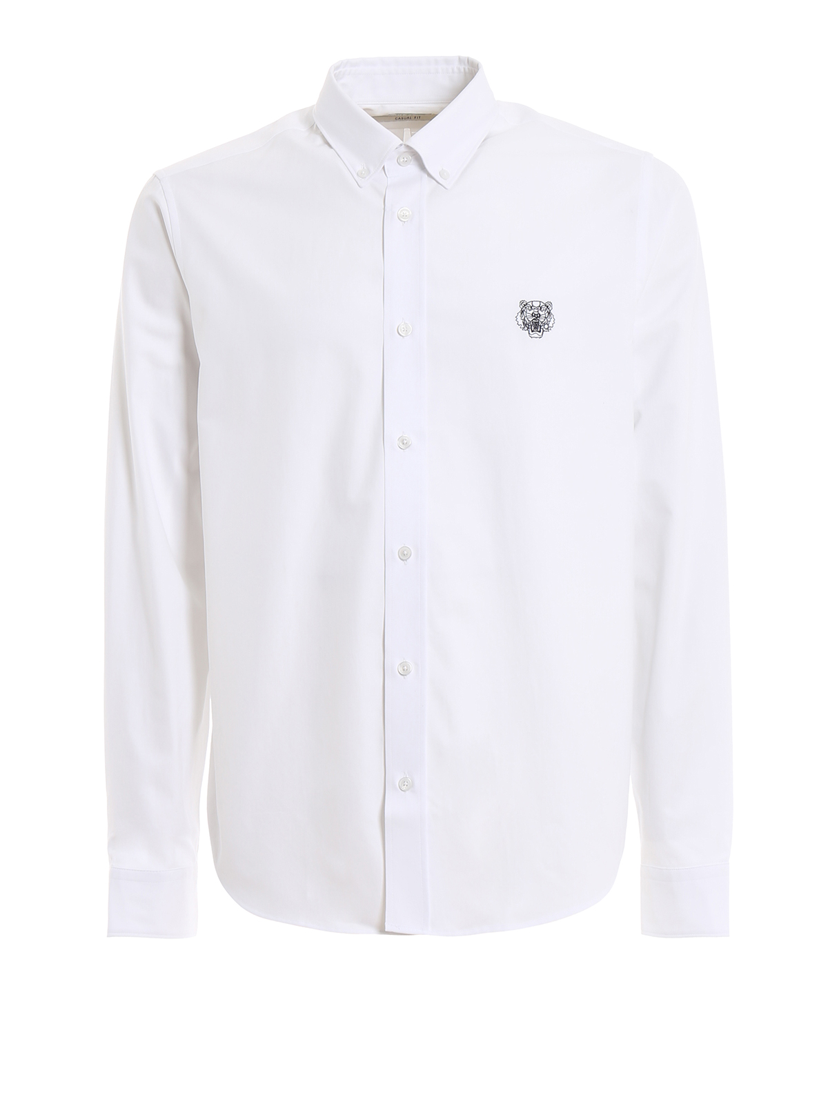 f5d181be Kenzo - Tiger crest casual fit button/down shirt - shirts ...