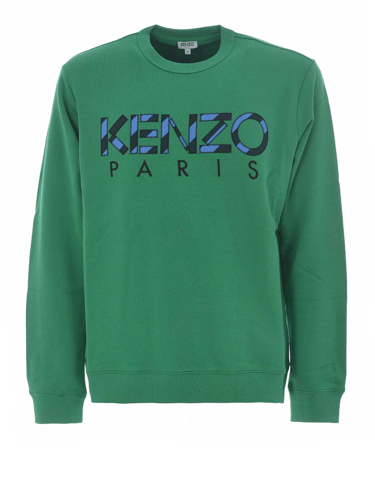 ab02f966 Kenzo - Kenzo green sweatshirt - Sweatshirts & Sweaters - F855SW0004MD57
