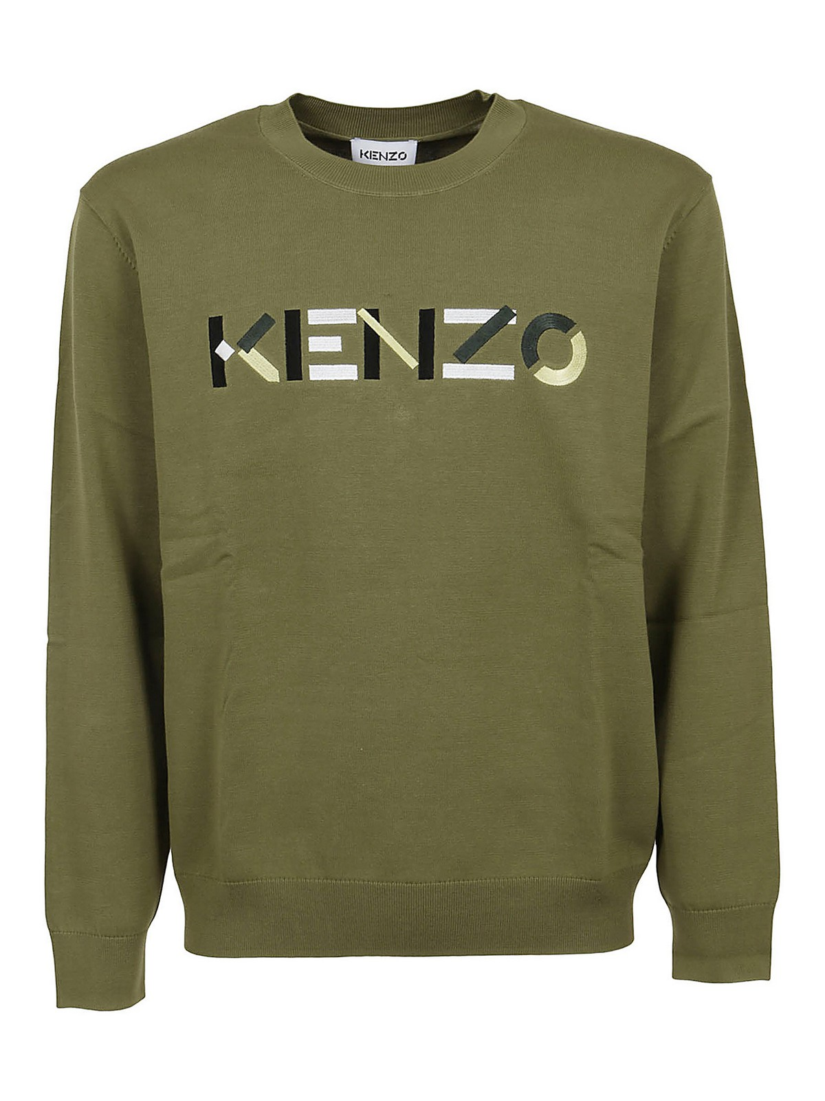 Kenzo Cottons LOGO EMBROIDERY SWEATER