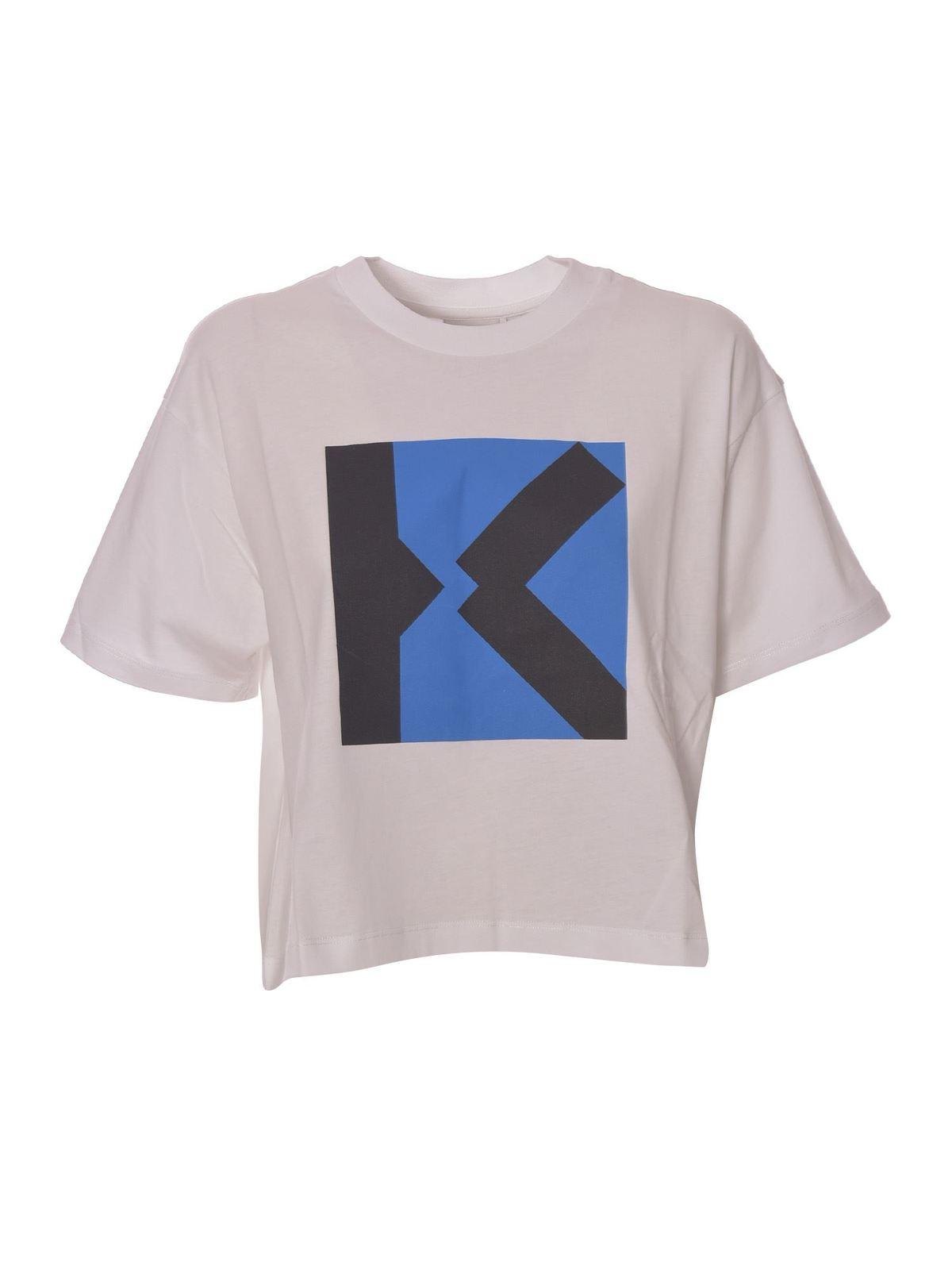 Kenzo BLOCKED K BOXY SPORTS T-SHIRT