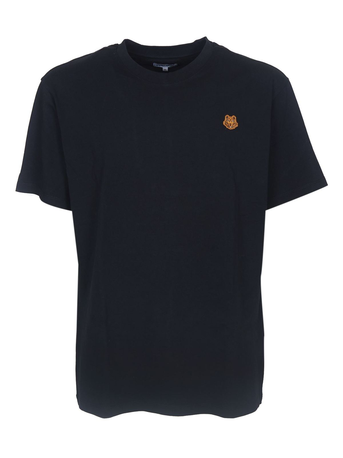 Kenzo TIGER CREST T-SHIRT IN BLACK