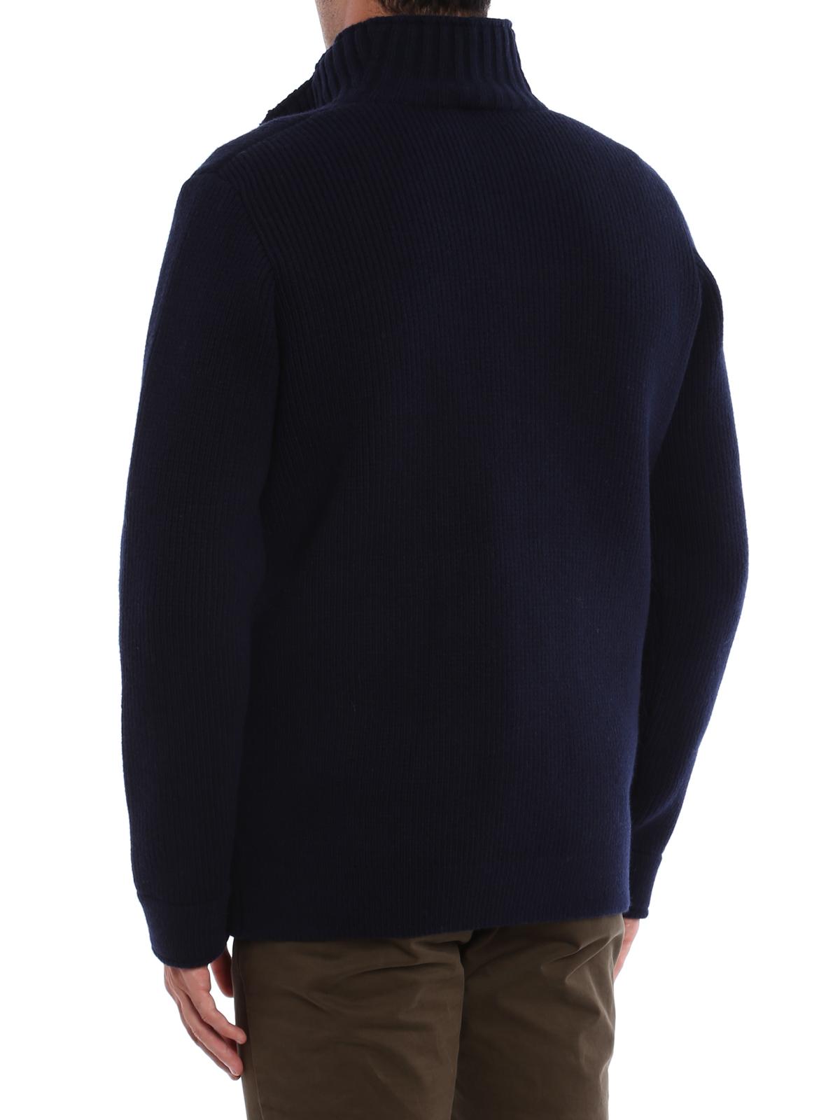 Fay Giacca in lana a maglia con gilet giacche casual