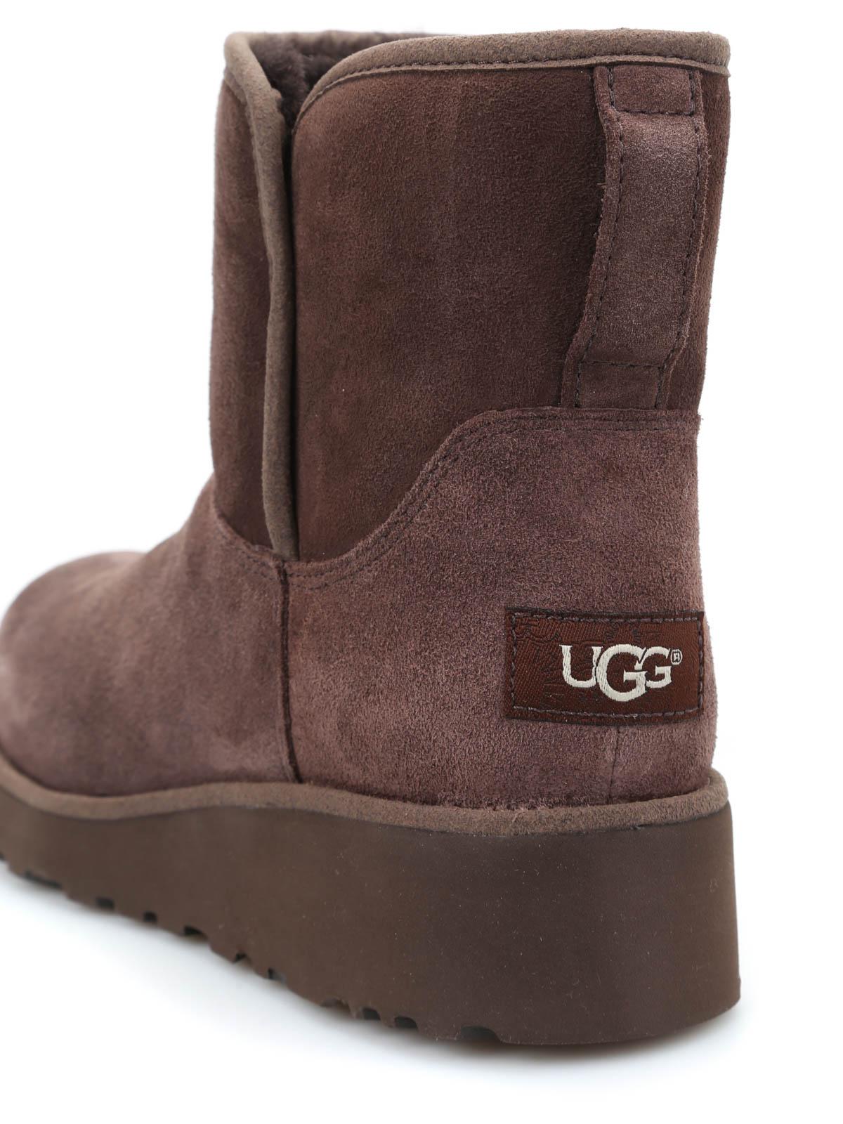 Ugg Kristin Sheepskin Booties Ankle Boots 1012496w