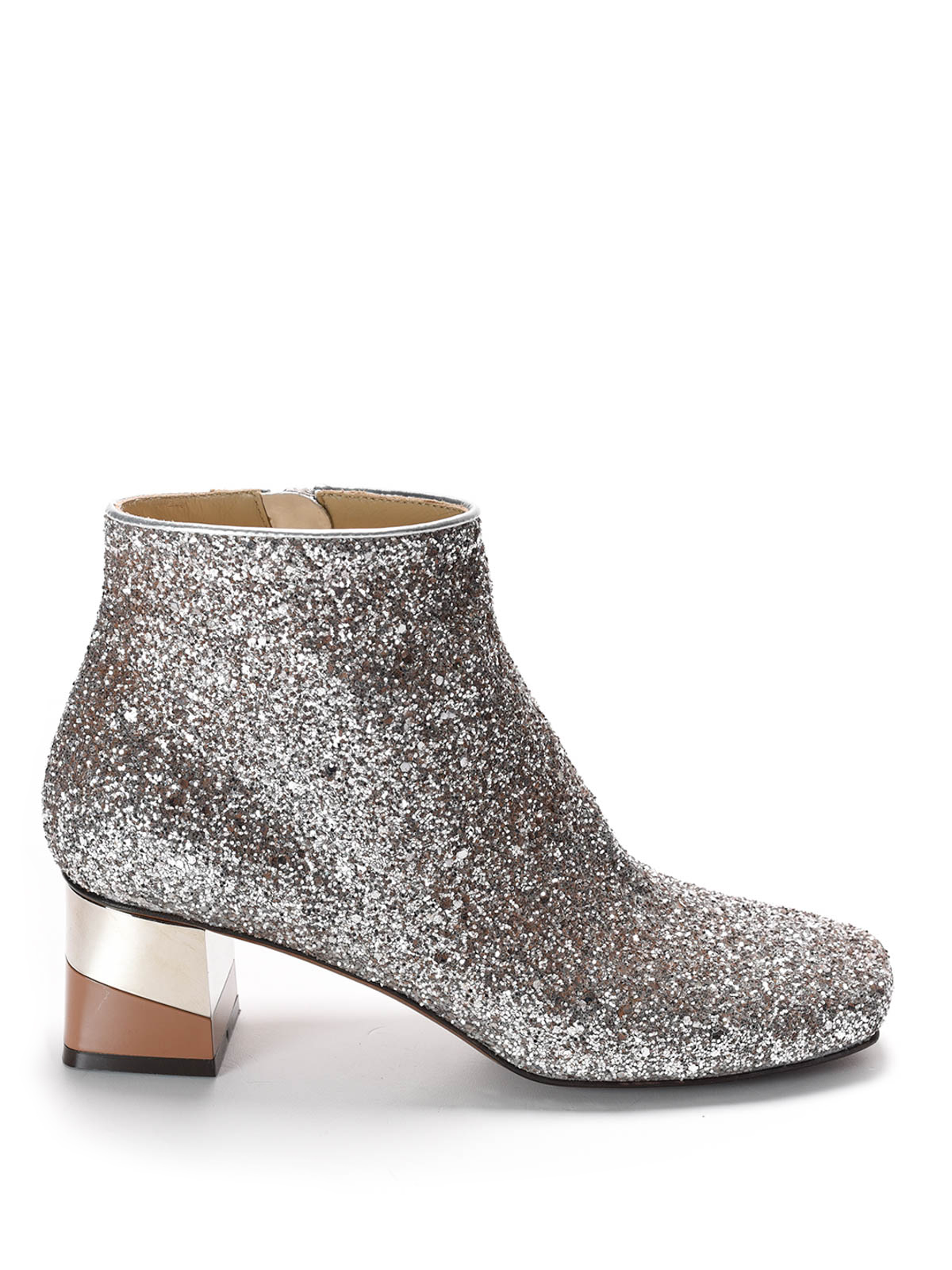heeled glitter ankle boots by l autre chose ankle boots