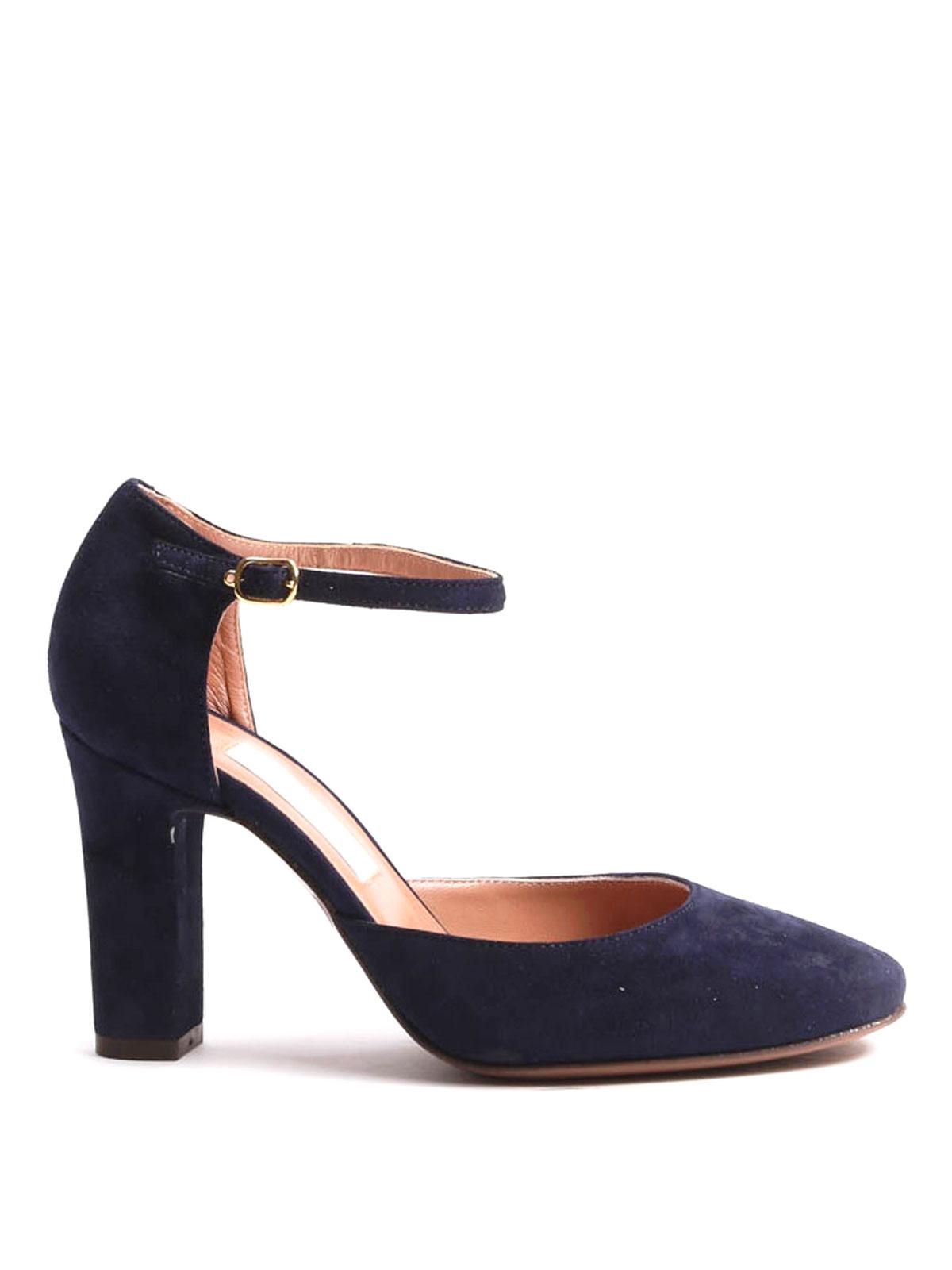 l 39 autre chose mary jane suede pumps court shoes. Black Bedroom Furniture Sets. Home Design Ideas