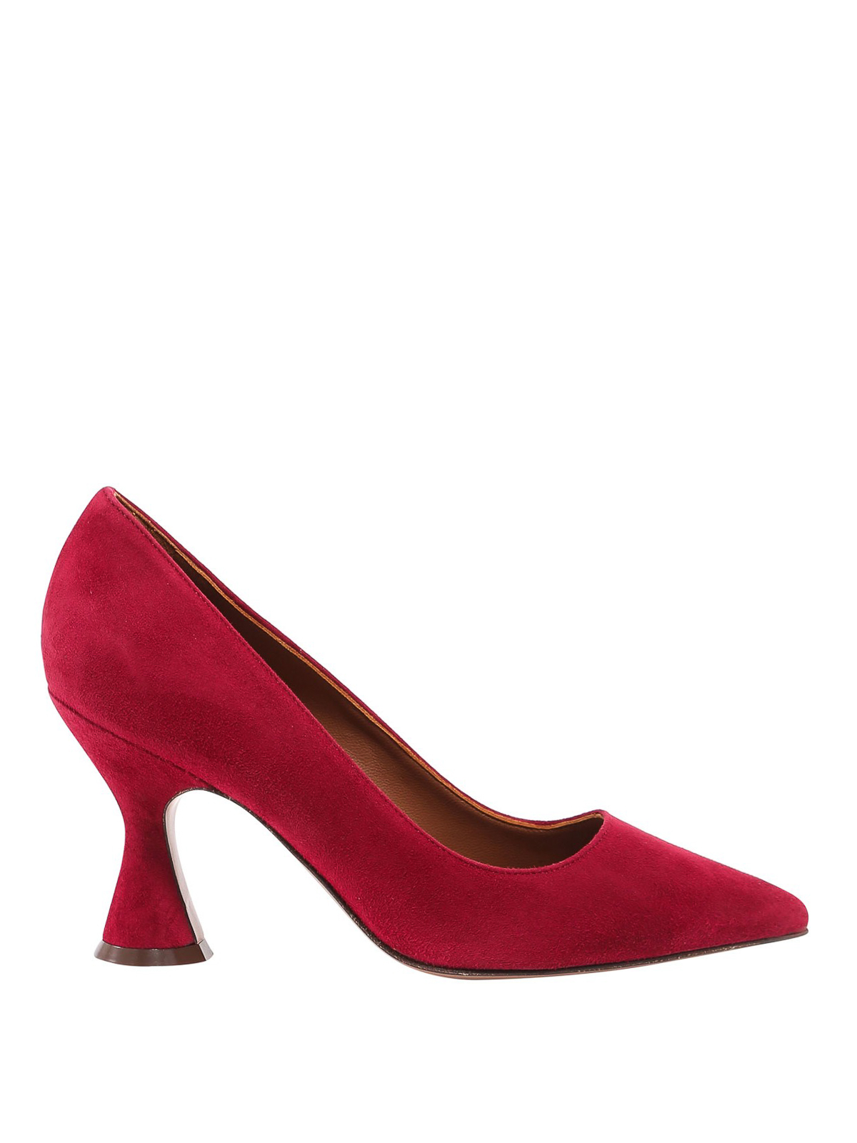 L'autre Chose POINTED TOE SUEDE COURT SHOES