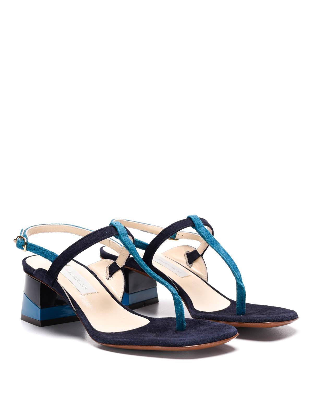 suede sandals by l 39 autre chose sandals ikrix. Black Bedroom Furniture Sets. Home Design Ideas
