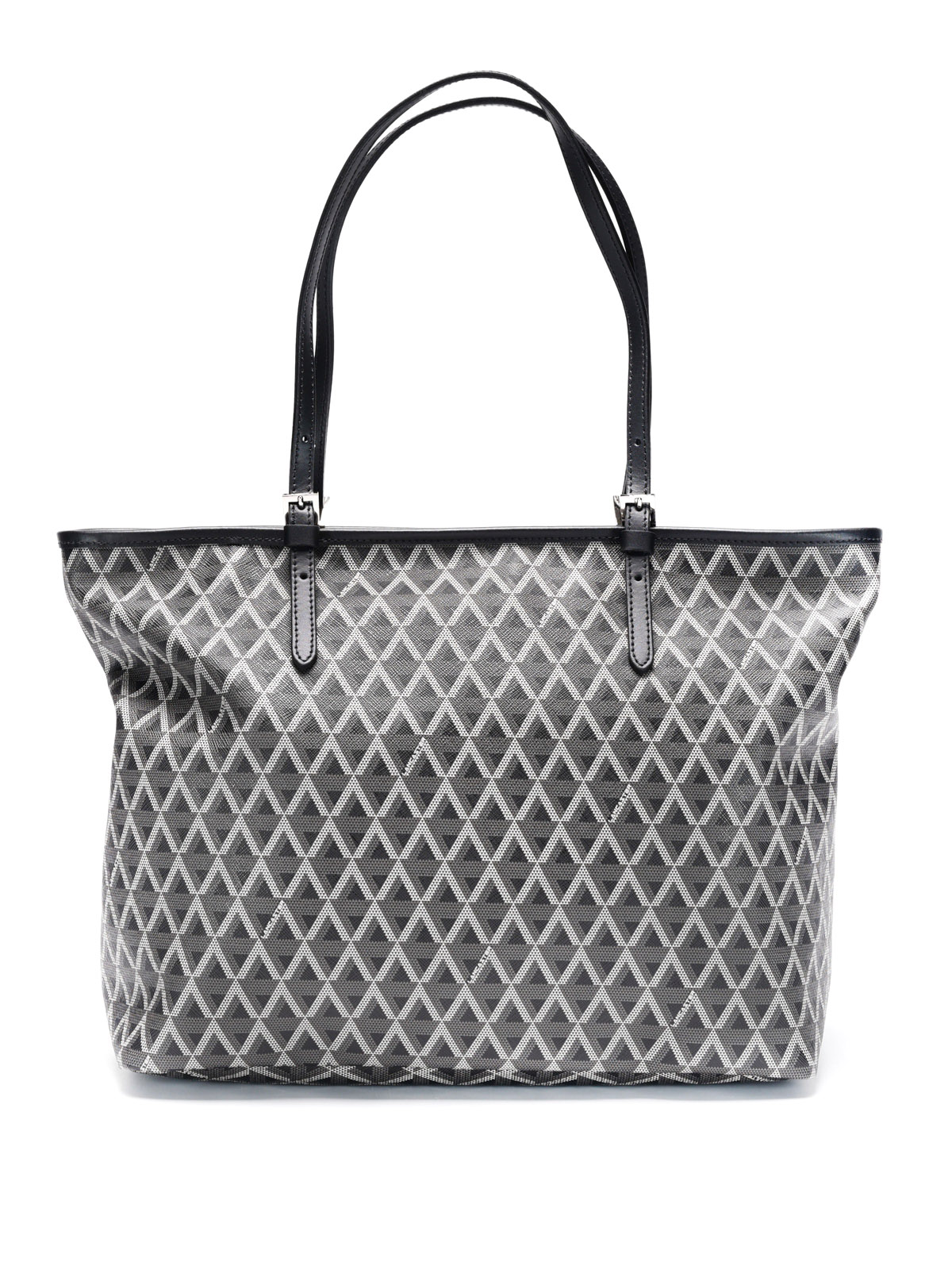 geometric pattern tote by lancaster totes bags ikrix. Black Bedroom Furniture Sets. Home Design Ideas