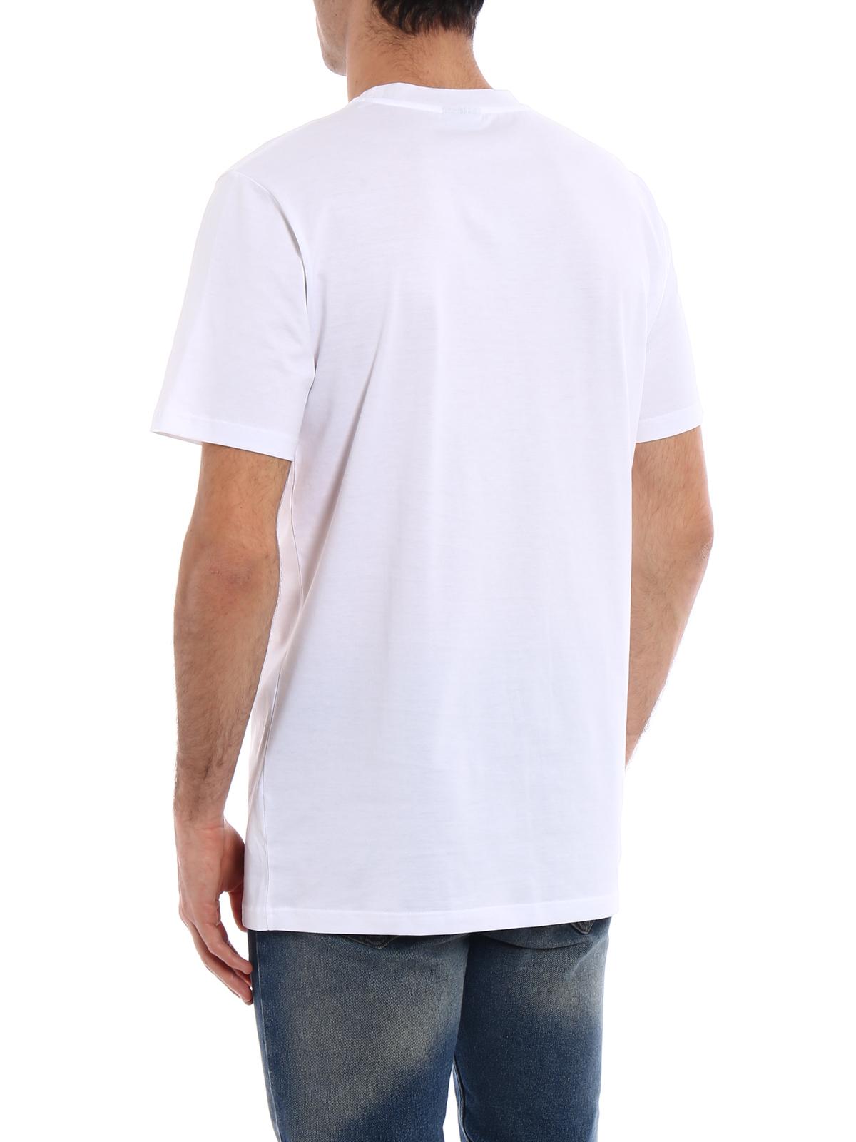 lanvin logo white tshirt by lanvin tshirts shop