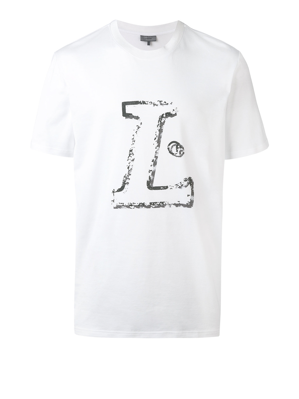 logo tshirt by lanvin tshirts shop online at ikrix