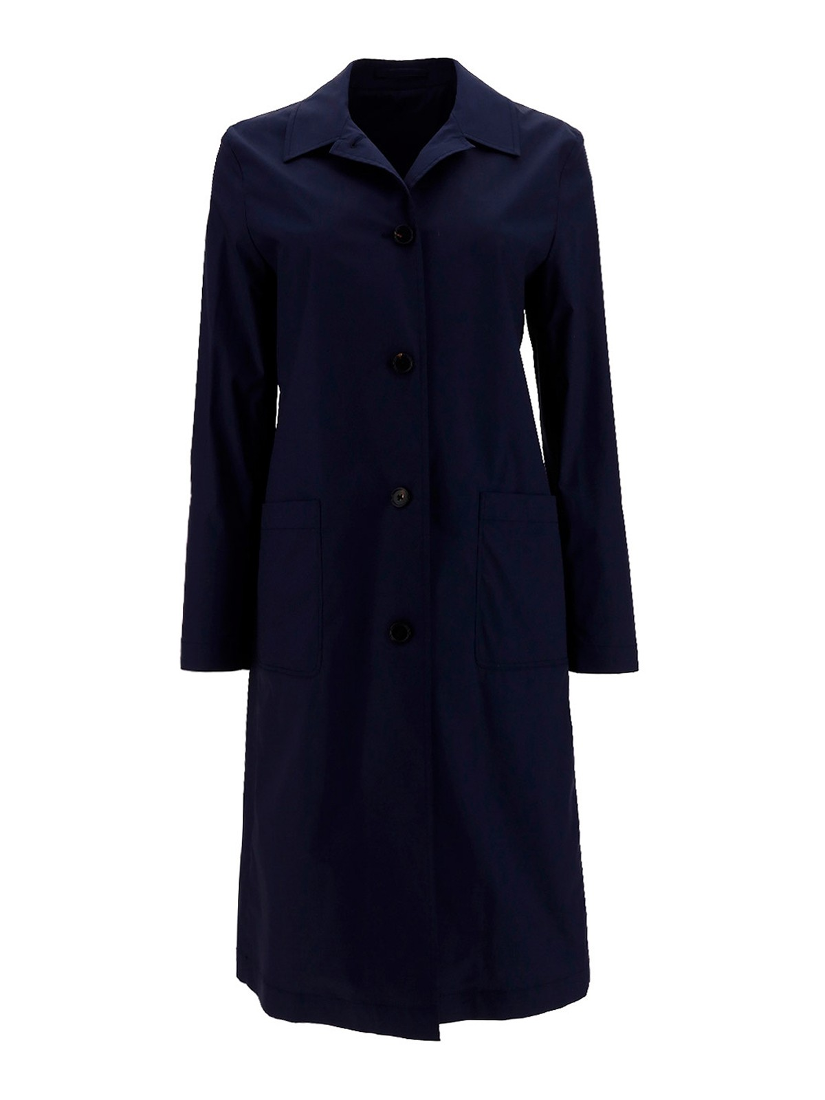 Lardini Cottons COTTON-BLEND TRENCH COAT