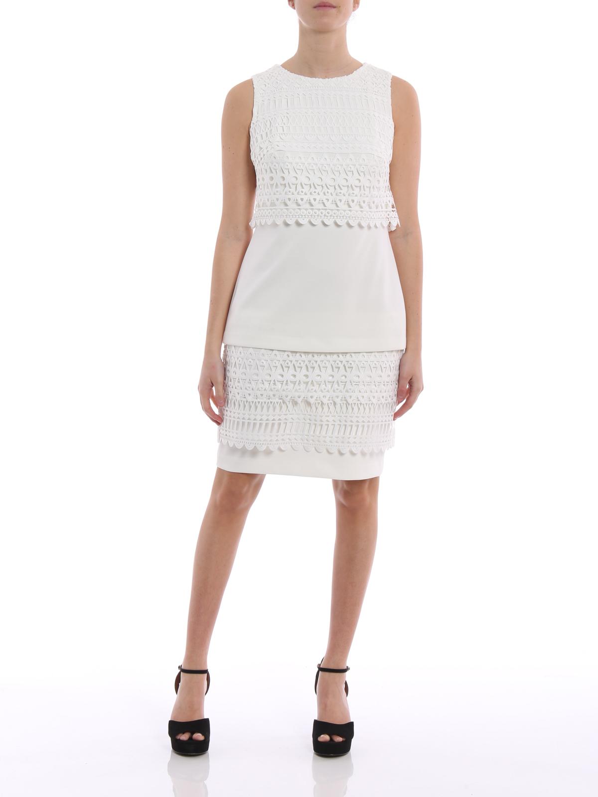 Cocktailkleid - Weiß von Lauren Ralph Lauren - Cocktailkleider | iKRIX