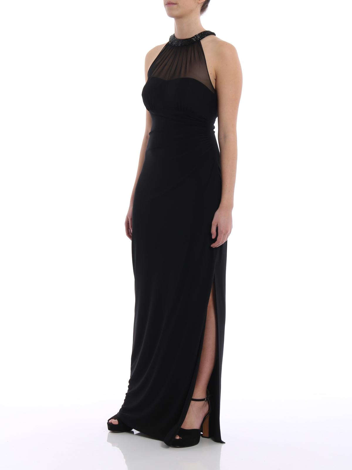 Lauren Ralph Lauren Azusa Jersey Evening Dress Evening Dresses