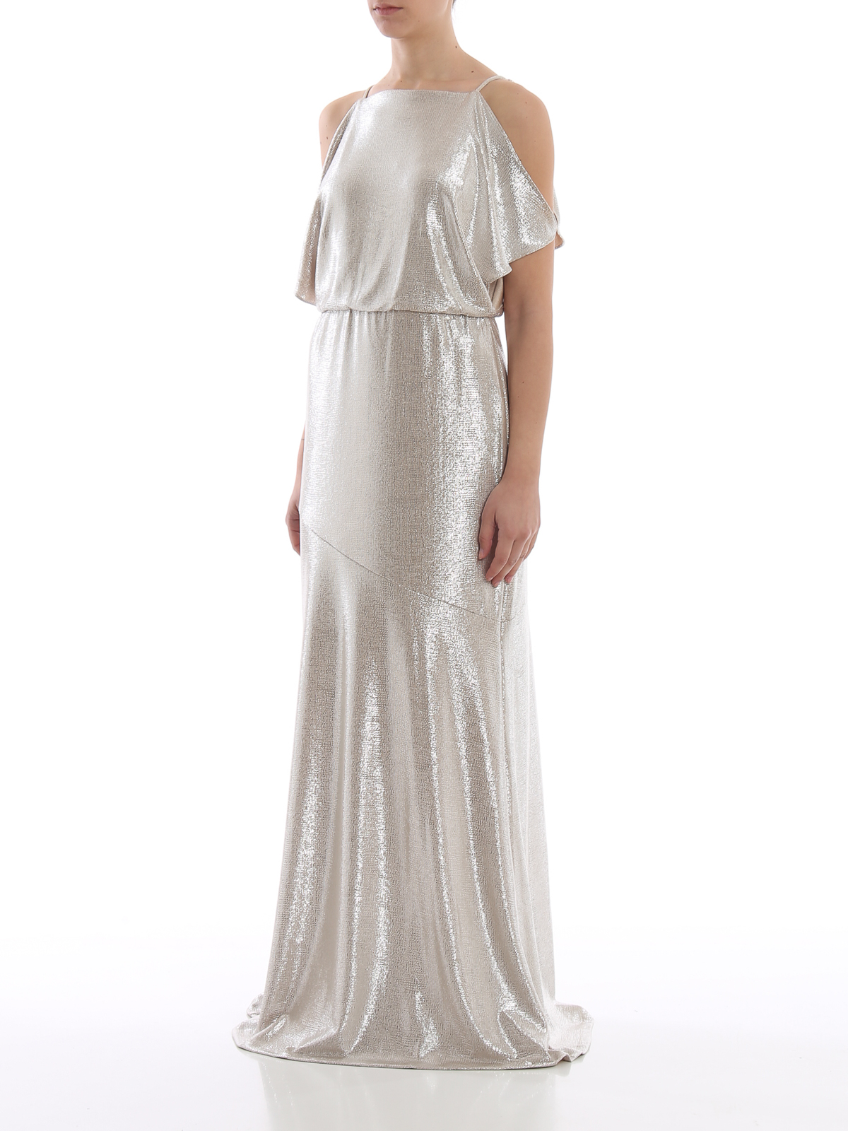 c9b0aa8f87 LAUREN RALPH LAUREN  evening dresses online - Zelder metallic fabric  evening dress