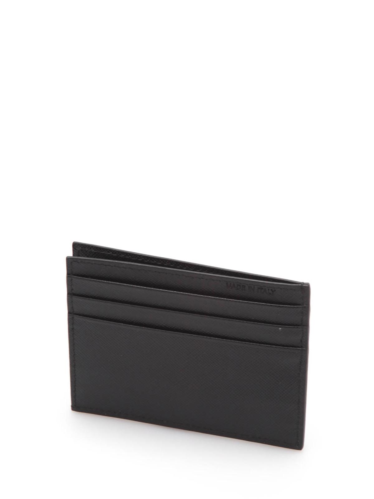 4837164bc8c00b Prada - Leather credit card holder - wallets & purses - 2MC223QME F0002