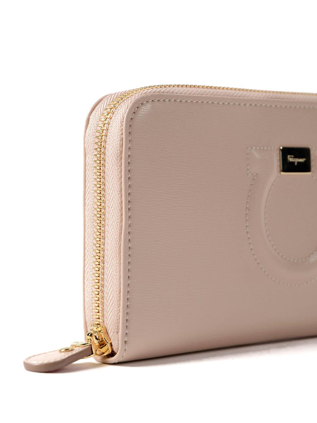 8d23dc9e837e7 Salvatore Ferragamo - Leather Gancini continental wallet - wallets ...