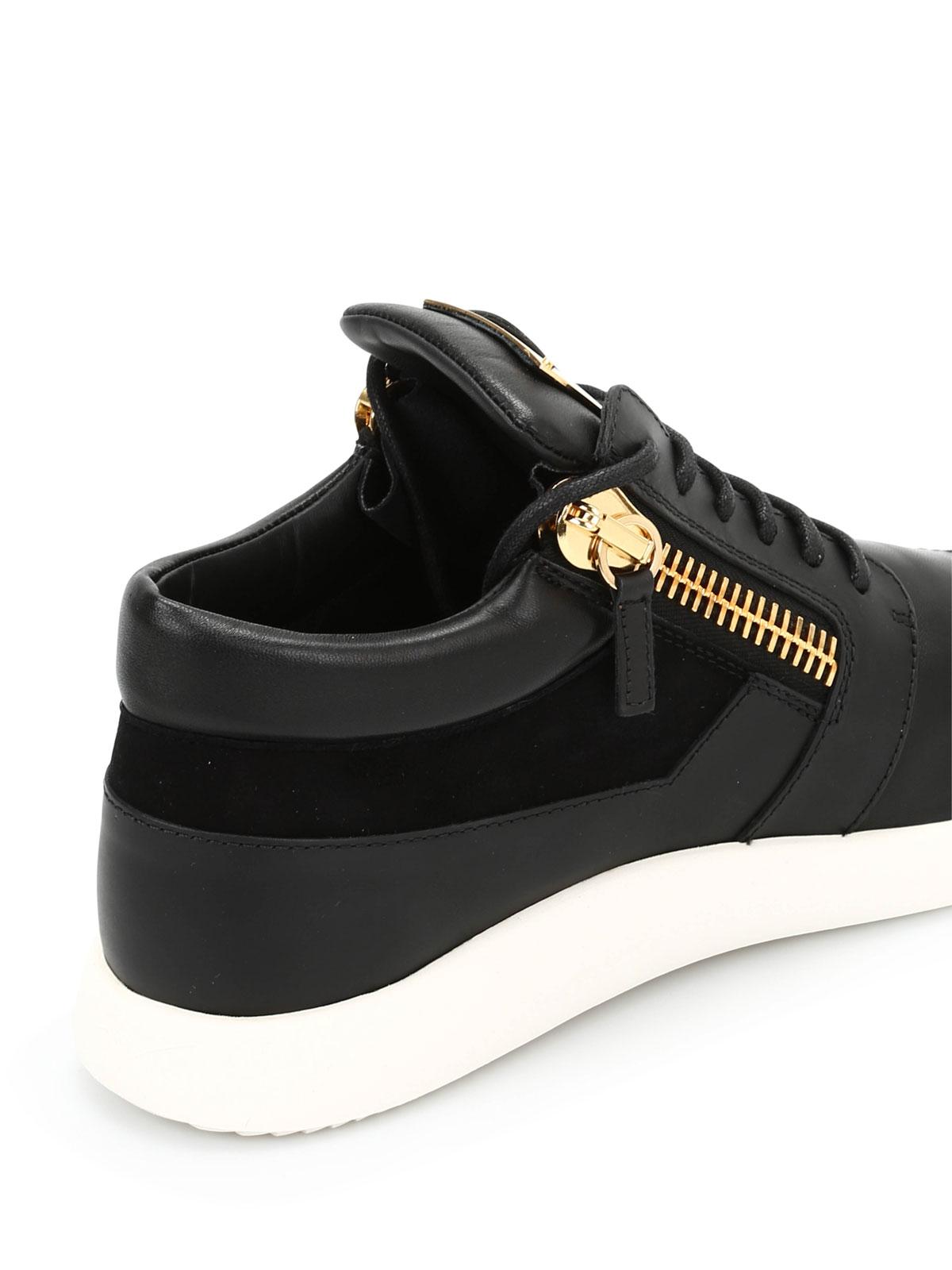 bas prix 4d4c8 0cb89 Giuseppe Zanotti - Baskets Noir Pour Homme - Chaussures de ...