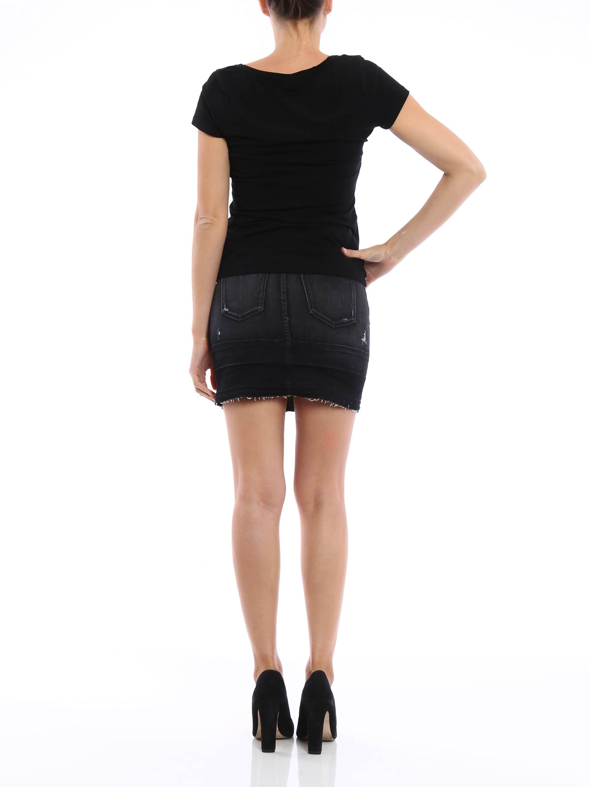 Leila pencil mini skirt by J Brand - mini skirts | iKRIX