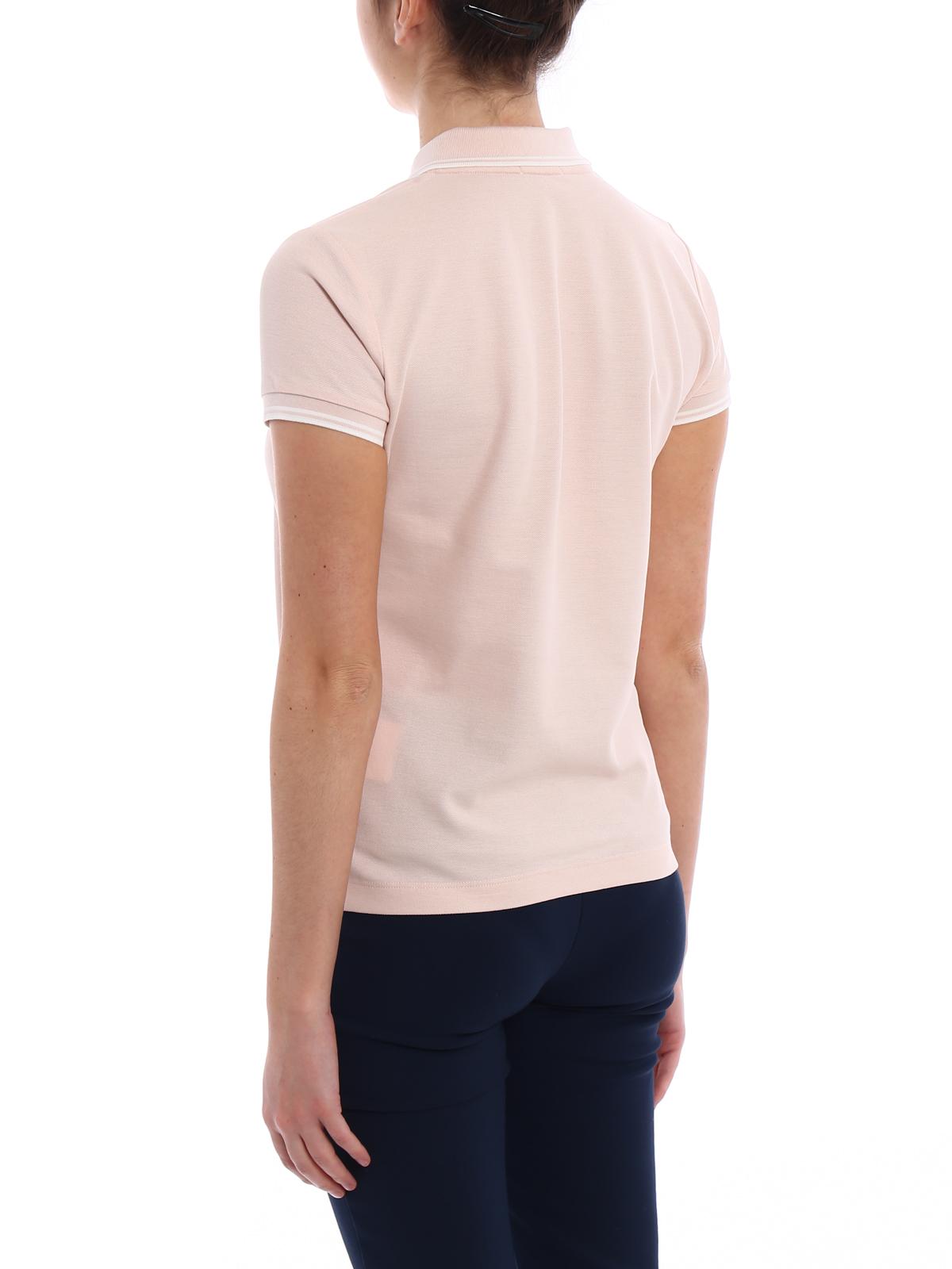 2bab6a28f26b Moncler - Light pink polo shirt - polo shirts - D1 093 8386000 84667 529