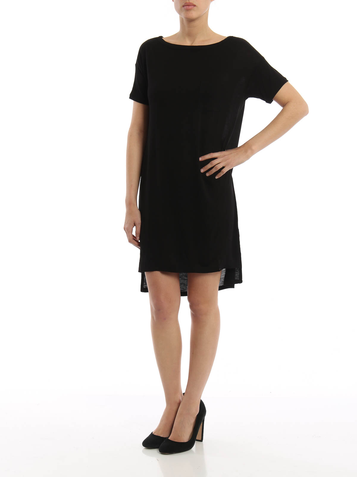 Shop Top Deals from our Sister Site! Sign In / Register. Skip to search results Skip to filters Skip to sort Skip to pagination Skip to selected filters. tshirt dress and Clothing items found. Sort By items. View. Sort By. Filter. Your Selections Cotton Modal Spandex Jersey Easy T-Shirt Dress with Tie Hem. $ MSRP: $ Like.